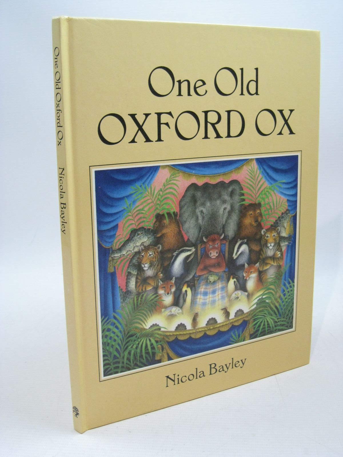 Photo of ONE OLD OXFORD OX written by Bayley, Nicola illustrated by Bayley, Nicola published by Jonathan Cape (STOCK CODE: 1504446)  for sale by Stella & Rose's Books