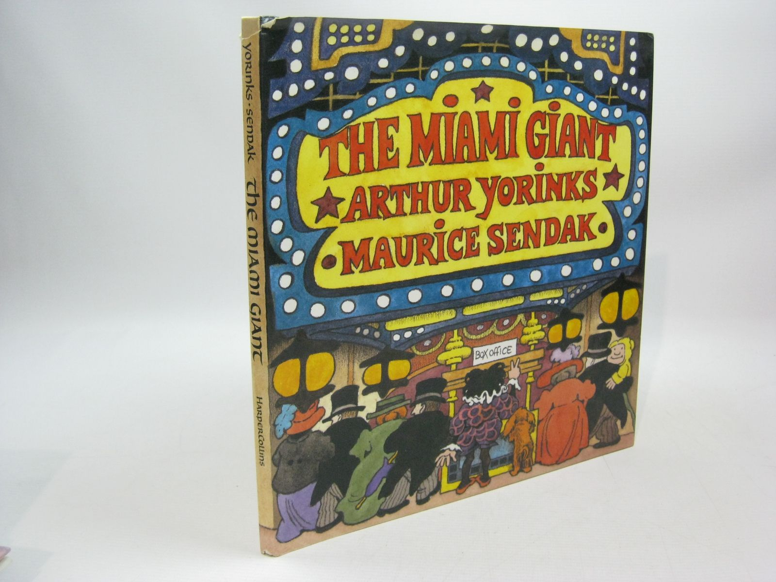 Photo of THE MIAMI GIANT written by Yorinks, Arthur illustrated by Sendak, Maurice published by Harper Collins (STOCK CODE: 1504455)  for sale by Stella & Rose's Books