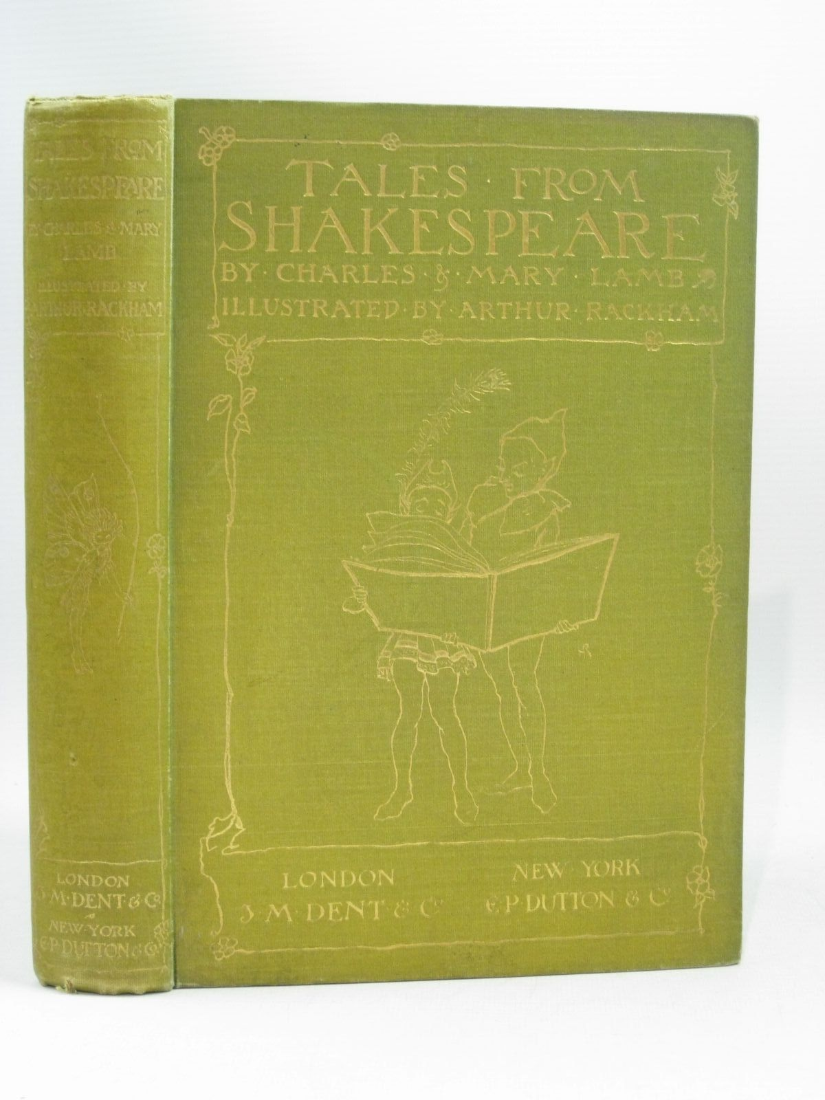 Photo of TALES FROM SHAKESPEARE written by Lamb, Charles<br />Lamb, Mary illustrated by Rackham, Arthur published by J.M. Dent & Co., E.P. Dutton & Co. (STOCK CODE: 1504528)  for sale by Stella & Rose's Books