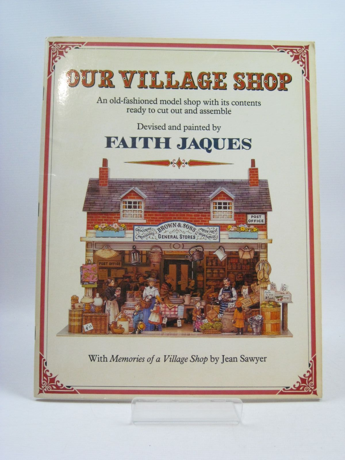 Photo of OUR VILLAGE SHOP written by Sawyer, Jean illustrated by Jaques, Faith published by Heinemann (STOCK CODE: 1504593)  for sale by Stella & Rose's Books