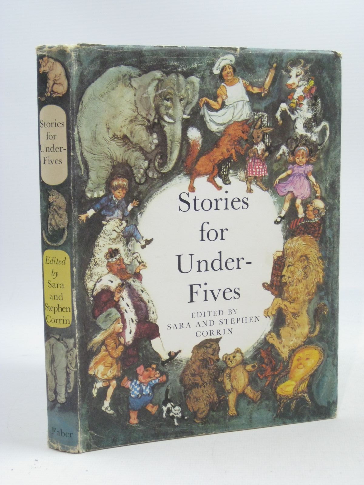 Photo of STORIES FOR UNDER FIVES written by Corrin, Sara<br />Corrin, Stephen illustrated by Hughes, Shirley published by Faber & Faber (STOCK CODE: 1504602)  for sale by Stella & Rose's Books