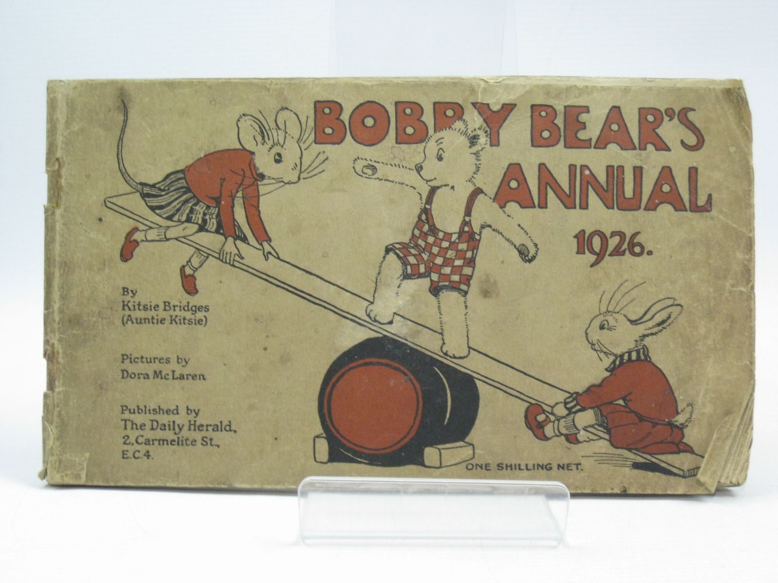 Photo of BOBBY BEAR'S ANNUAL 1926 written by Bridges, Kitsie illustrated by McLaren, Dora published by Daily Herald (STOCK CODE: 1504608)  for sale by Stella & Rose's Books