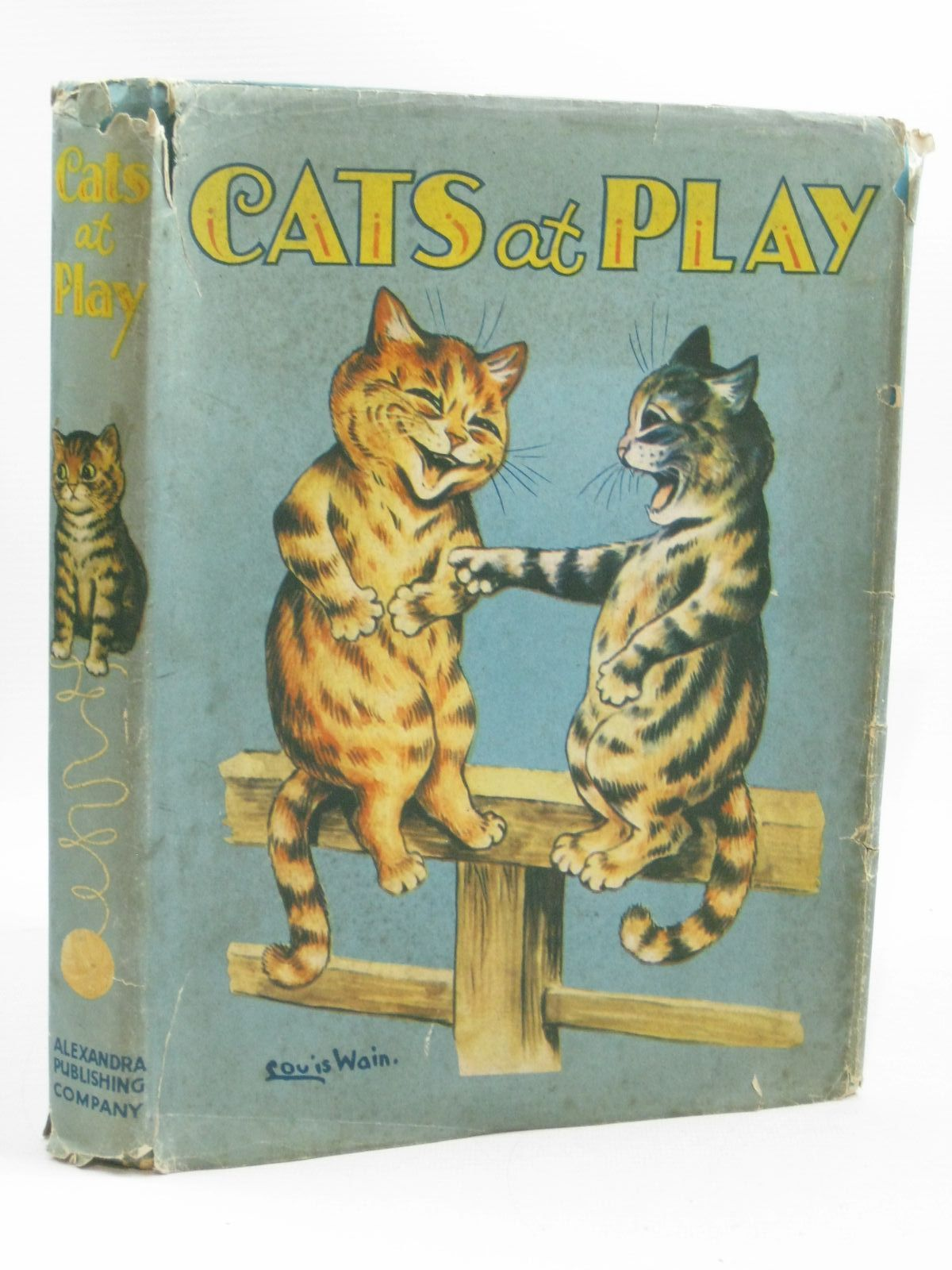 Photo of CATS AT PLAY illustrated by Wain, Louis published by The Alexandra Publishing Company (STOCK CODE: 1504613)  for sale by Stella & Rose's Books