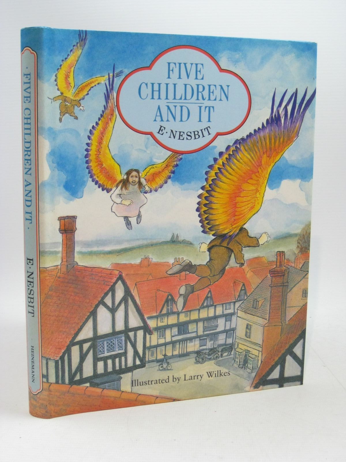 Photo of FIVE CHILDREN AND IT written by Nesbit, E. illustrated by Wilkes, Larry published by Heinemann (STOCK CODE: 1504615)  for sale by Stella & Rose's Books