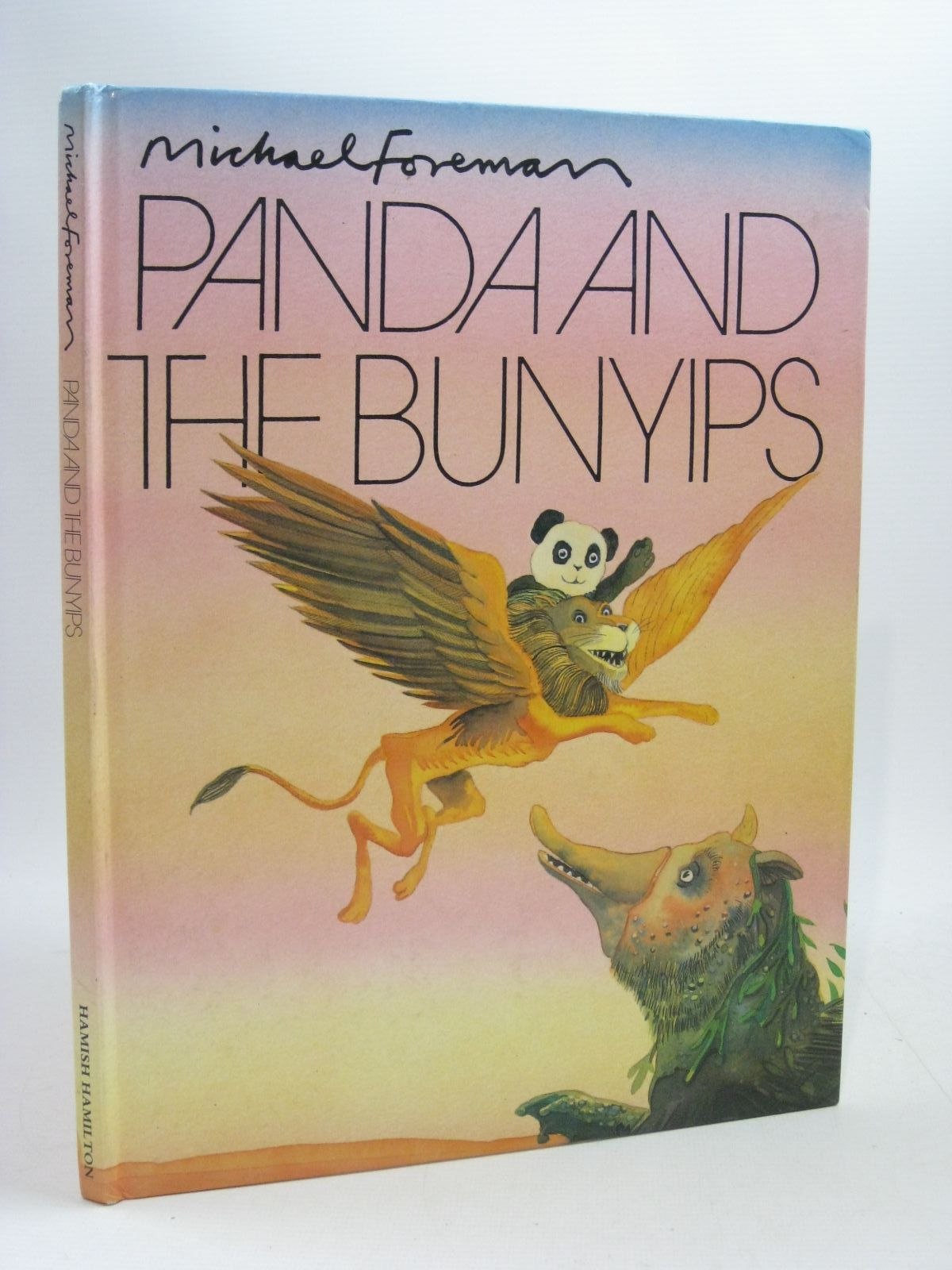 Photo of PANDA AND THE BUNYIPS written by Foreman, Michael illustrated by Foreman, Michael published by Hamish Hamilton (STOCK CODE: 1504793)  for sale by Stella & Rose's Books