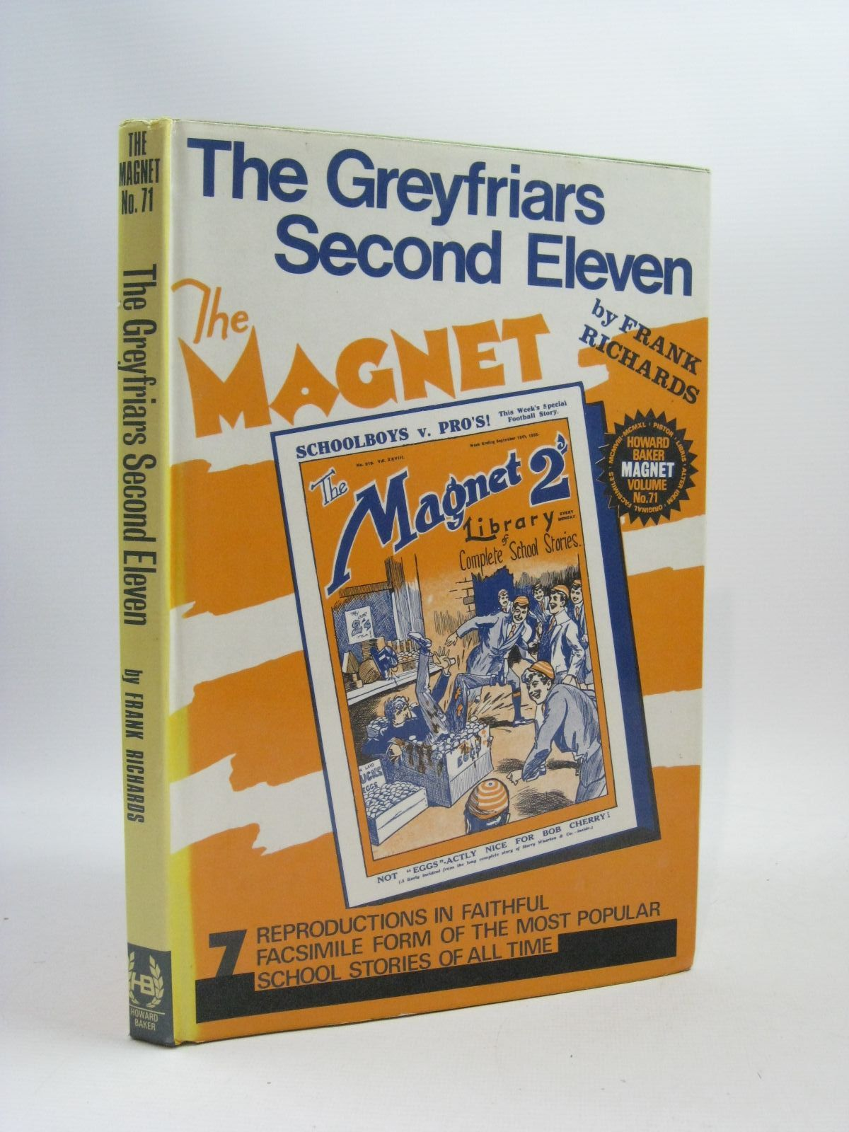 Photo of THE GREYFRIARS SECOND ELEVEN written by Richards, Frank published by Howard Baker Press (STOCK CODE: 1504817)  for sale by Stella & Rose's Books