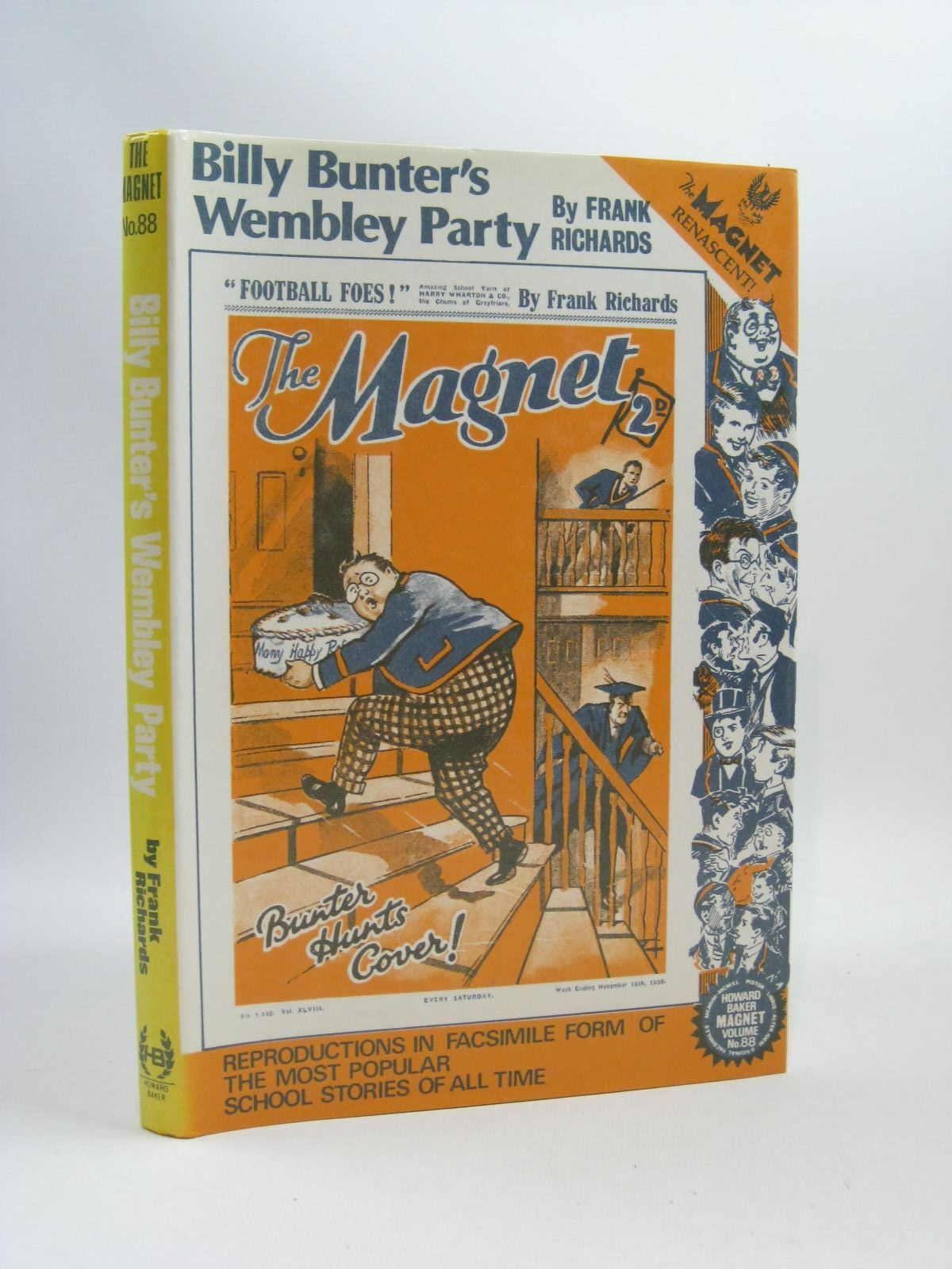 Photo of BILLY BUNTER'S WEMBLEY PARTY written by Richards, Frank published by Howard Baker Press (STOCK CODE: 1504818)  for sale by Stella & Rose's Books