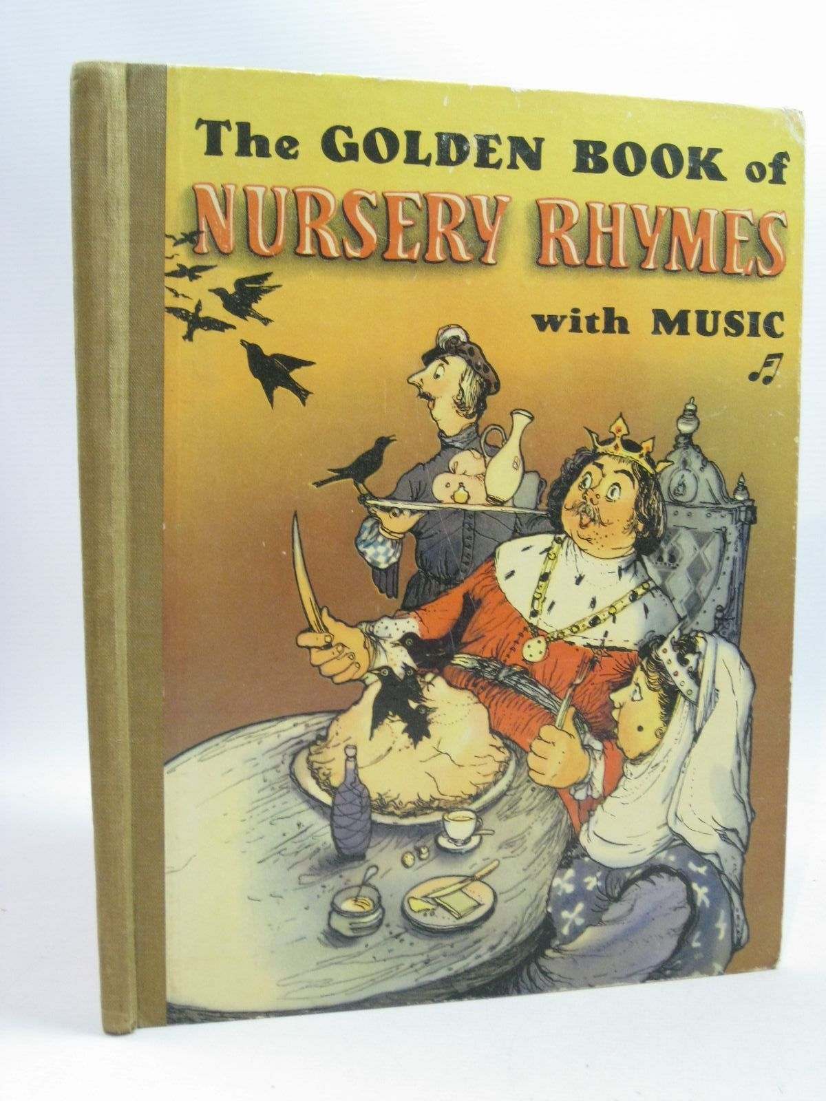 Photo of THE GOLDEN BOOK OF NURSERY RHYMES written by Micklem, T.C. illustrated by Carlton, J.R. published by Blandford Press Ltd. (STOCK CODE: 1504824)  for sale by Stella & Rose's Books