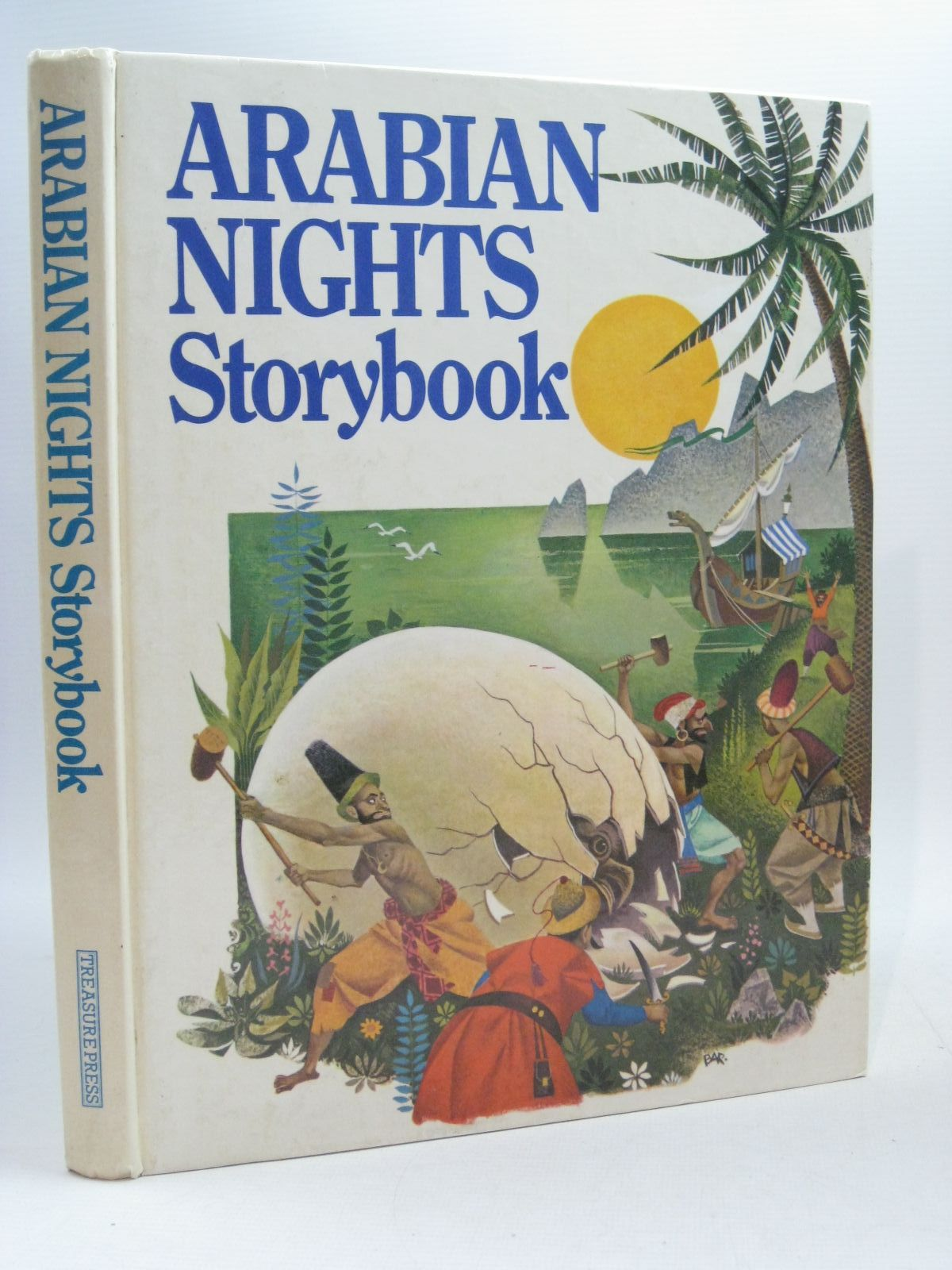 Photo of ARABIAN NIGHTS STORYBOOK written by Maharg, Anoif published by Treasure Press (STOCK CODE: 1504835)  for sale by Stella & Rose's Books