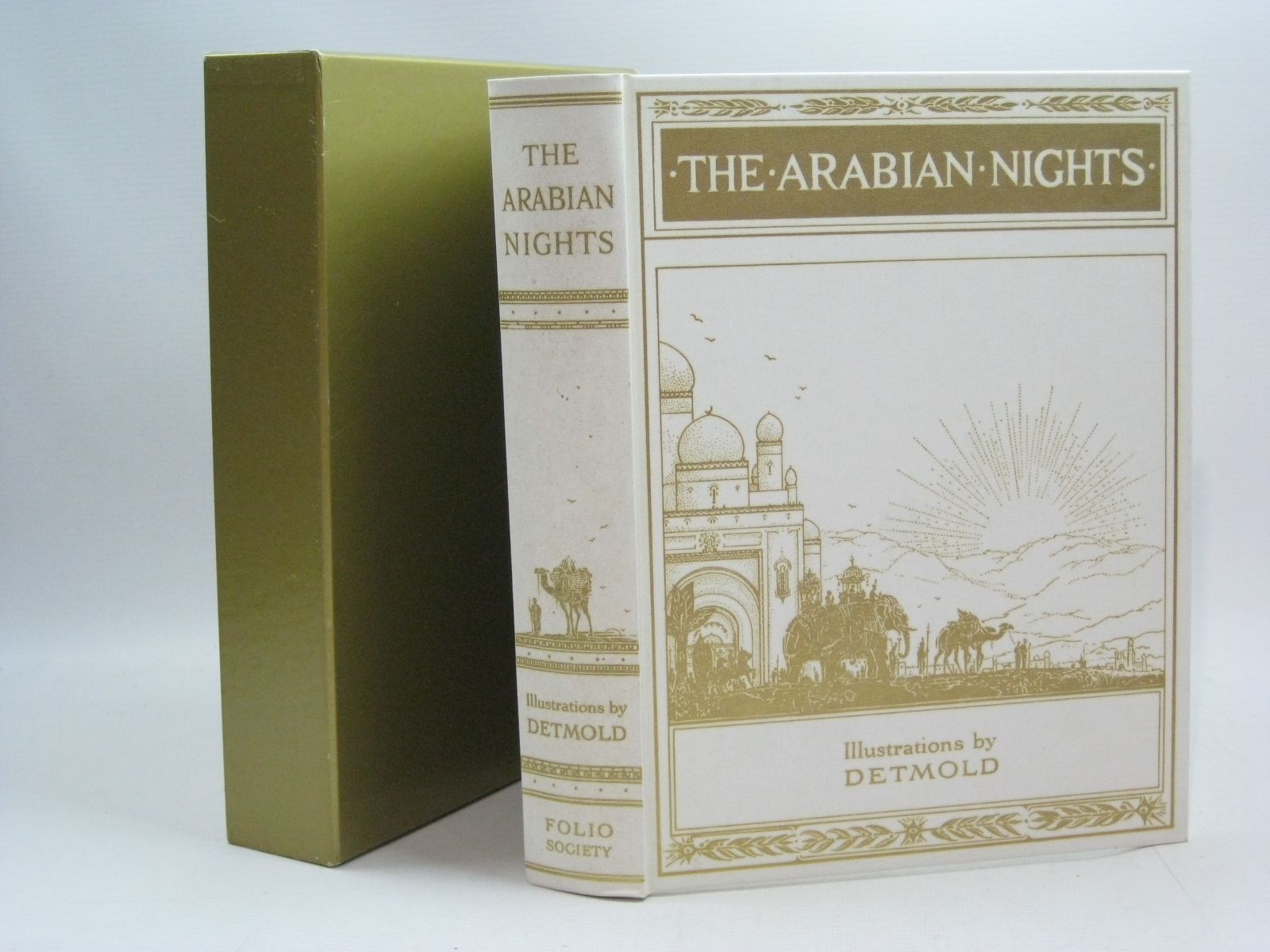 Photo of THE ARABIAN NIGHTS illustrated by Detmold, Edward J. published by Folio Society (STOCK CODE: 1504843)  for sale by Stella & Rose's Books