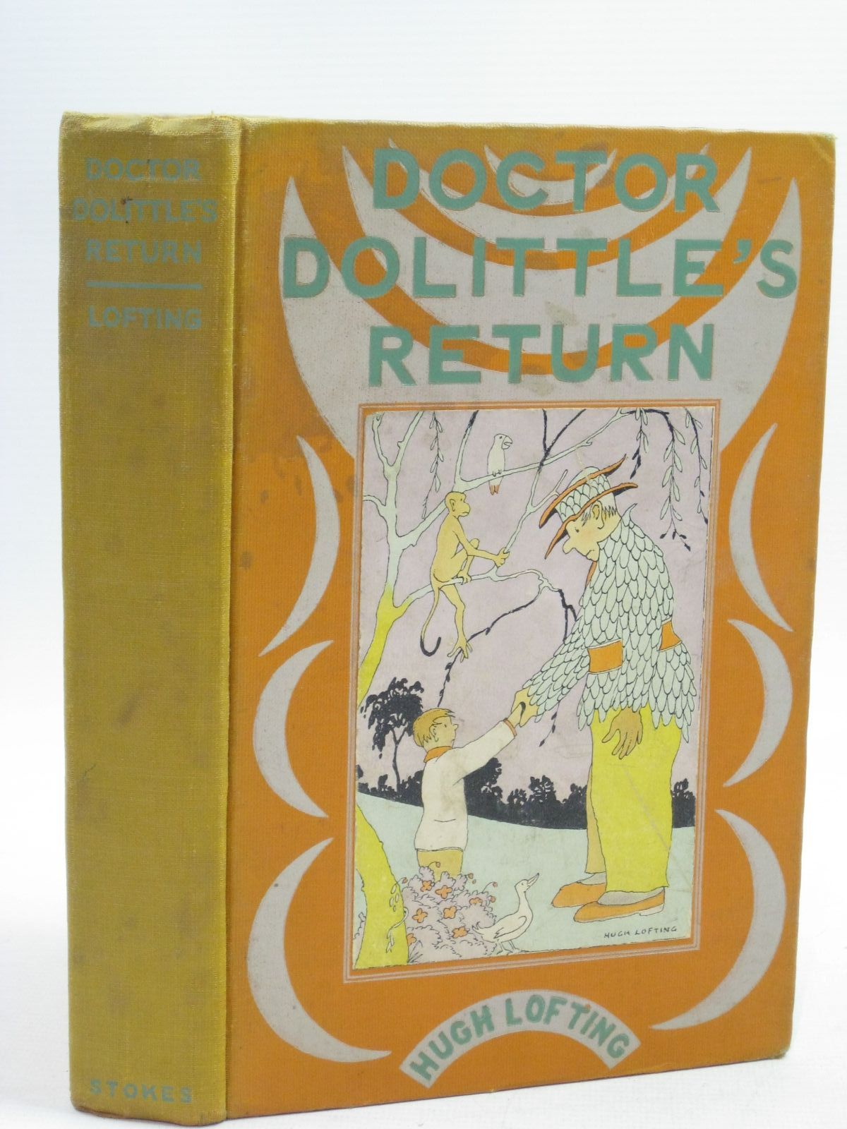 Photo of DOCTOR DOLITTLE'S RETURN written by Lofting, Hugh illustrated by Lofting, Hugh published by Frederick A. Stokes Co. (STOCK CODE: 1504864)  for sale by Stella & Rose's Books