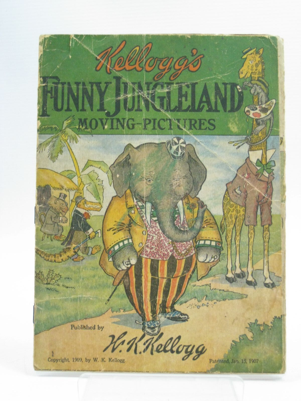 Photo of KELLOGG'S FUNNY JUNGLELAND MOVING PICTURES published by W.K. Kellogg (STOCK CODE: 1504887)  for sale by Stella & Rose's Books