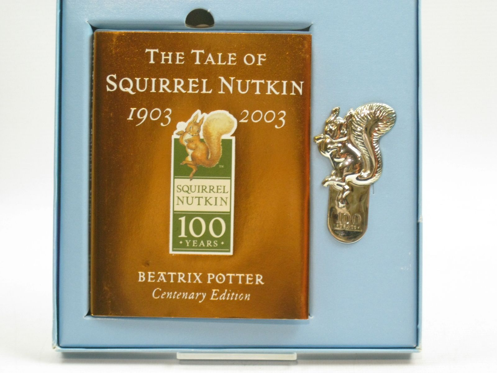 Photo of THE TALE OF SQUIRREL NUTKIN BOOK AND BOOKMARK SET