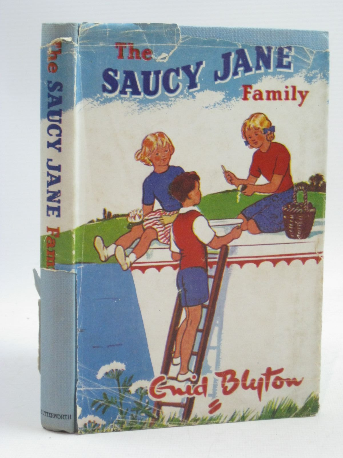 Photo of THE SAUCY JANE FAMILY written by Blyton, Enid illustrated by Gervis, Ruth published by Lutterworth Press (STOCK CODE: 1504985)  for sale by Stella & Rose's Books