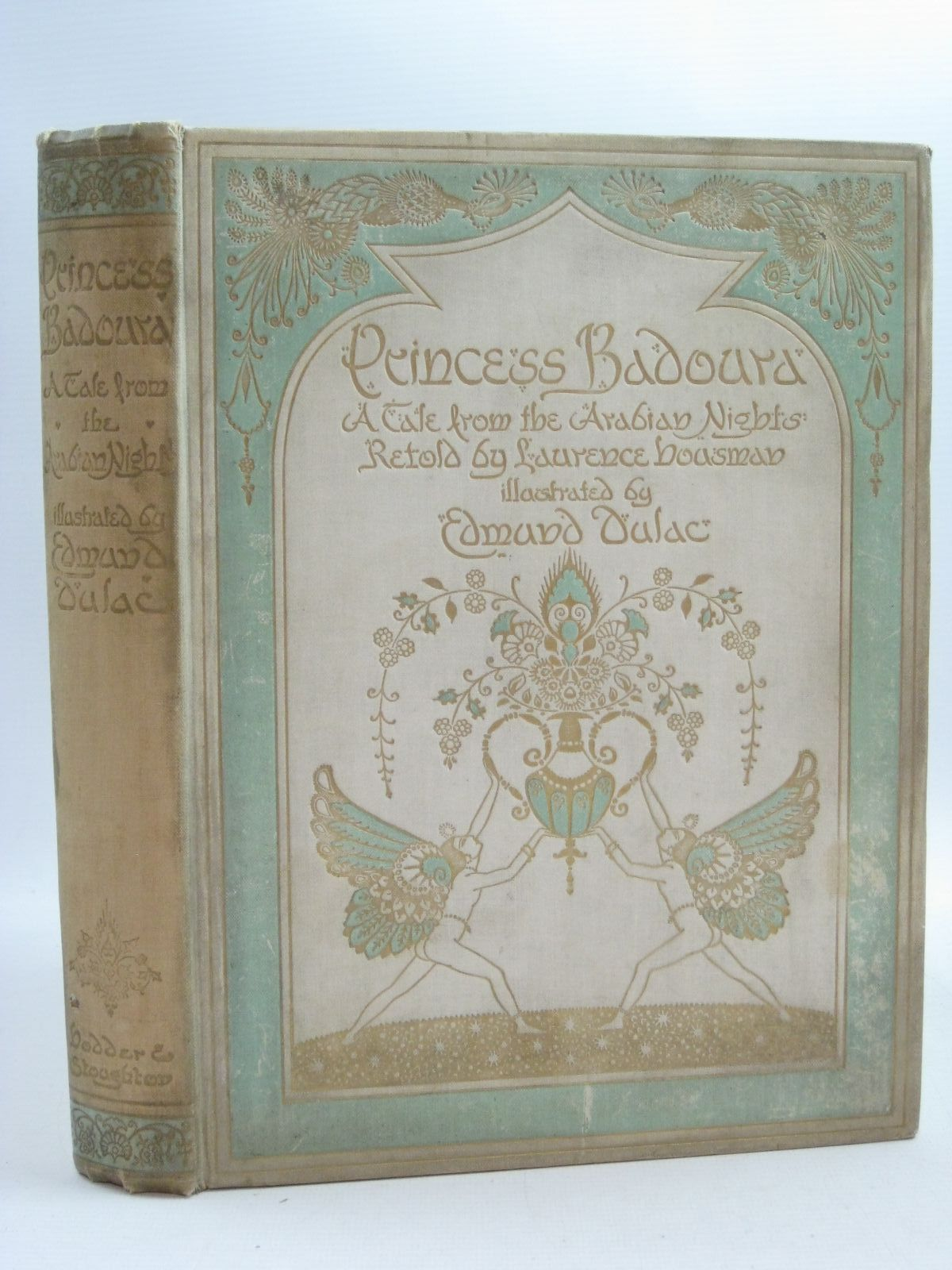 Photo of PRINCESS BADOURA written by Housman, Laurence illustrated by Dulac, Edmund published by Hodder & Stoughton (STOCK CODE: 1505035)  for sale by Stella & Rose's Books