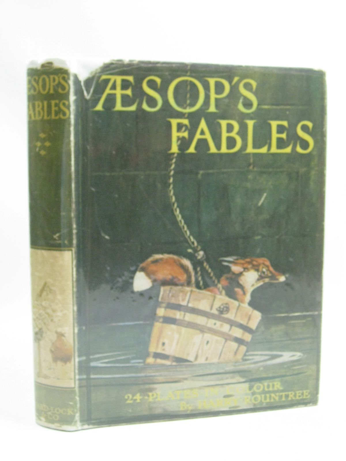 Photo of AESOP'S FABLES written by Aesop, <br />Winder, Blanche illustrated by Rountree, Harry published by Ward Lock & Co Ltd. (STOCK CODE: 1505099)  for sale by Stella & Rose's Books