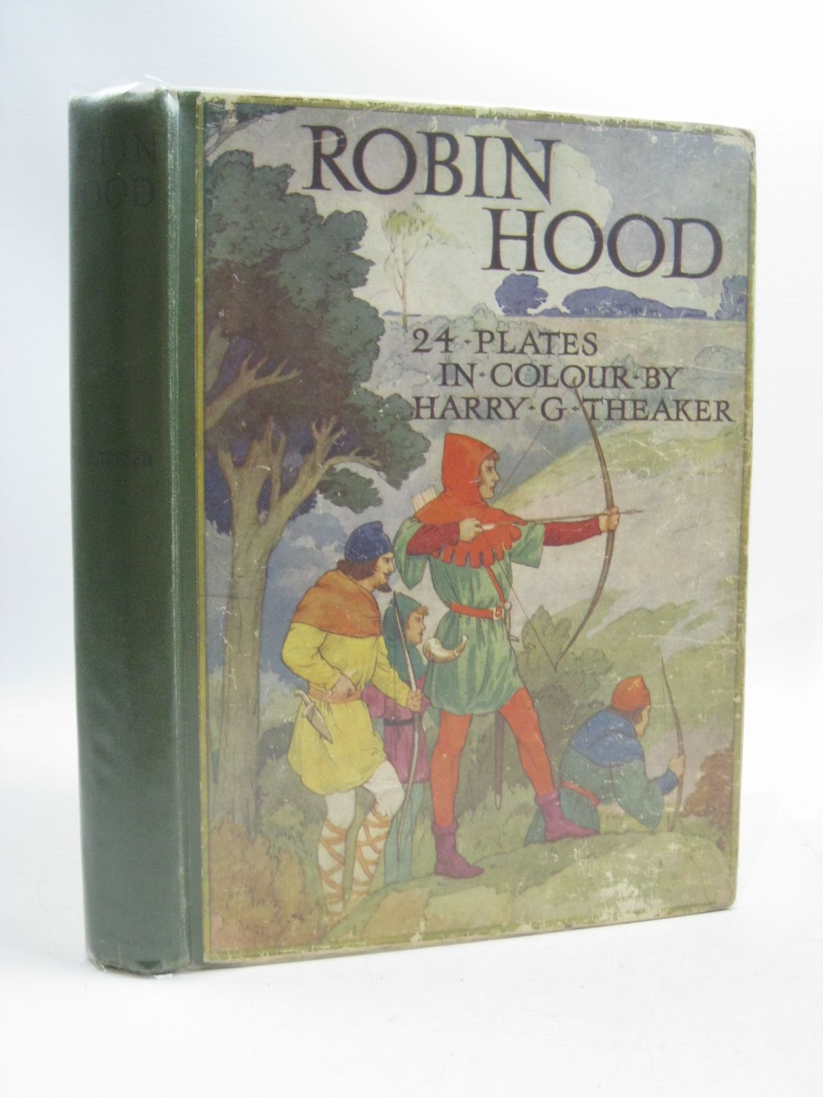 Photo of ROBIN HOOD written by Vivian, E. Charles illustrated by Theaker, Harry published by Ward, Lock & Co. Ltd. (STOCK CODE: 1505112)  for sale by Stella & Rose's Books