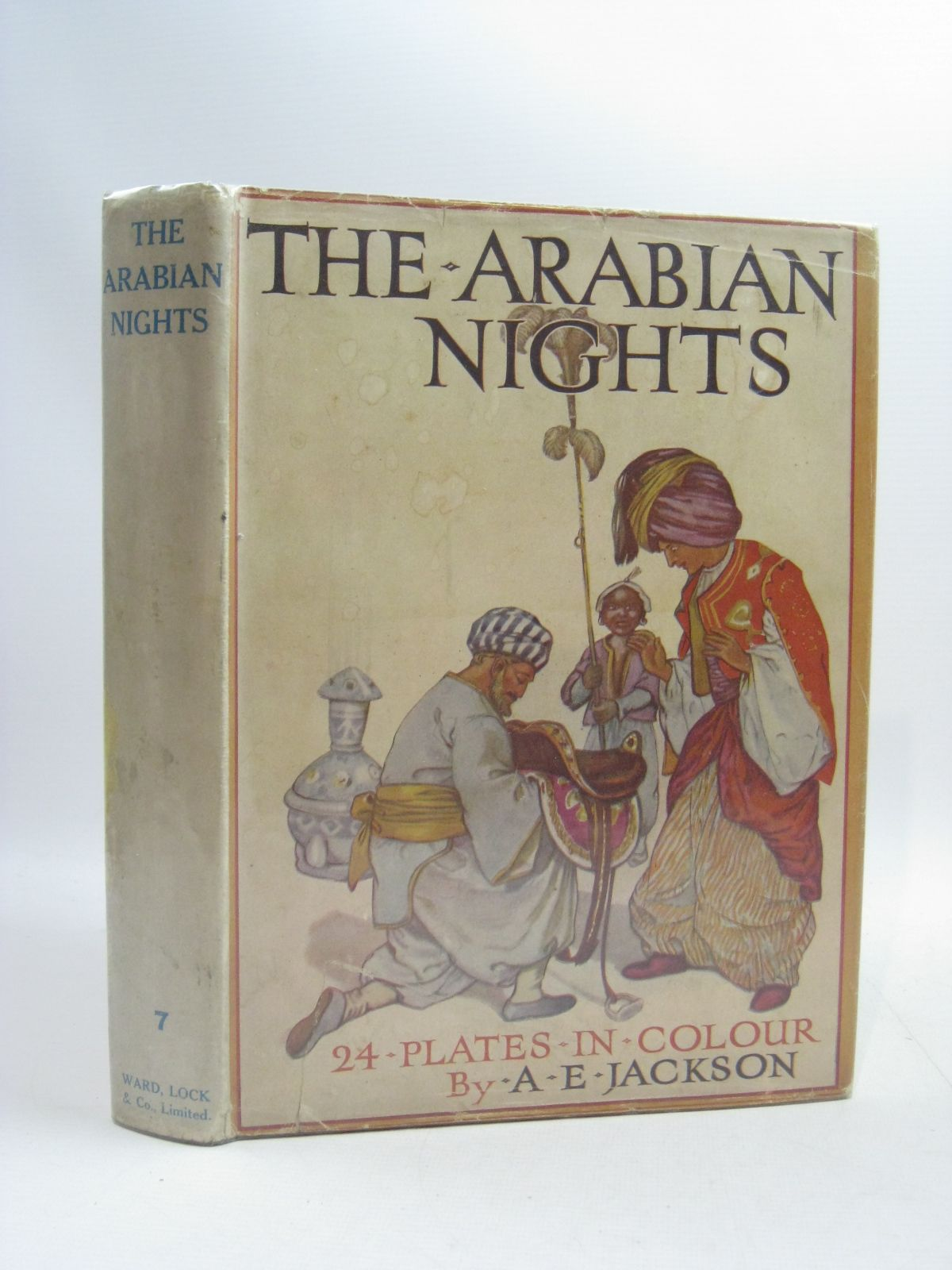 Photo of THE ARABIAN NIGHTS illustrated by Jackson, A.E. published by Ward, Lock & Co. Ltd. (STOCK CODE: 1505115)  for sale by Stella & Rose's Books