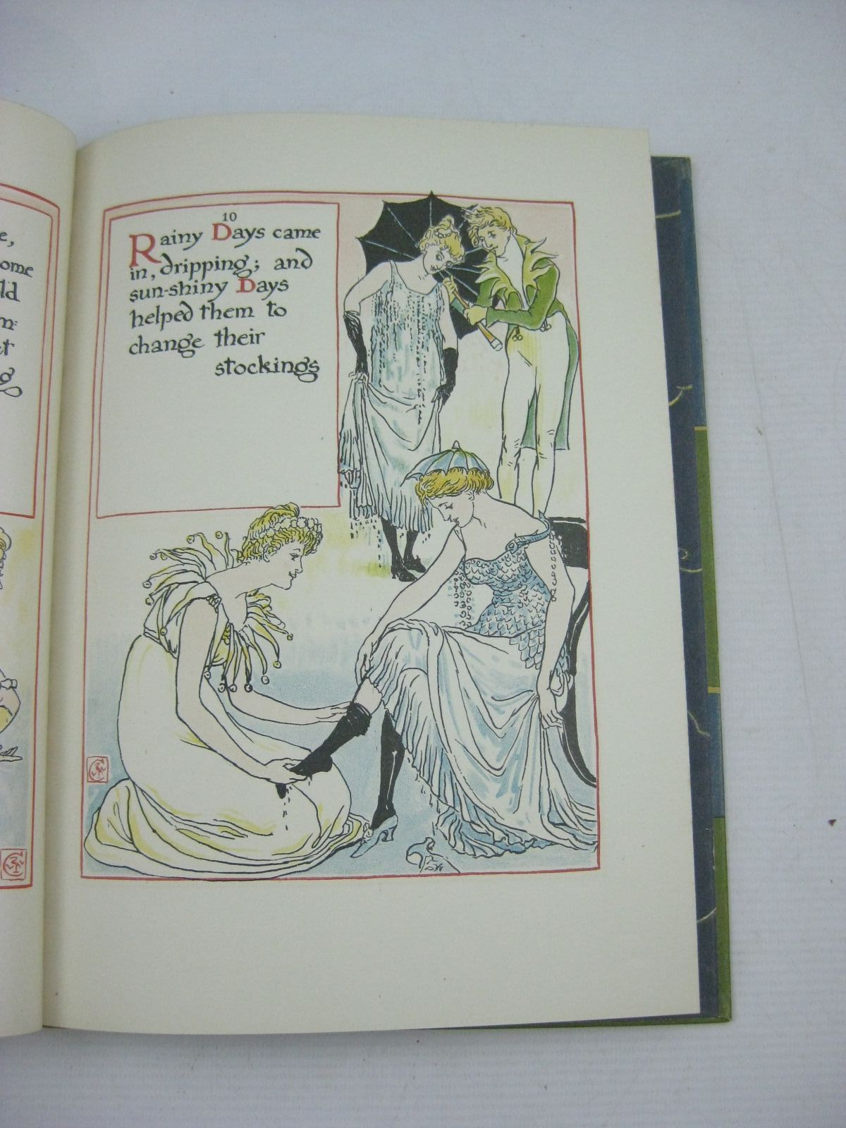 Photo of A MASQUE OF DAYS illustrated by Crane, Walter published by Cassell & Co. Ltd. (STOCK CODE: 1505143)  for sale by Stella & Rose's Books