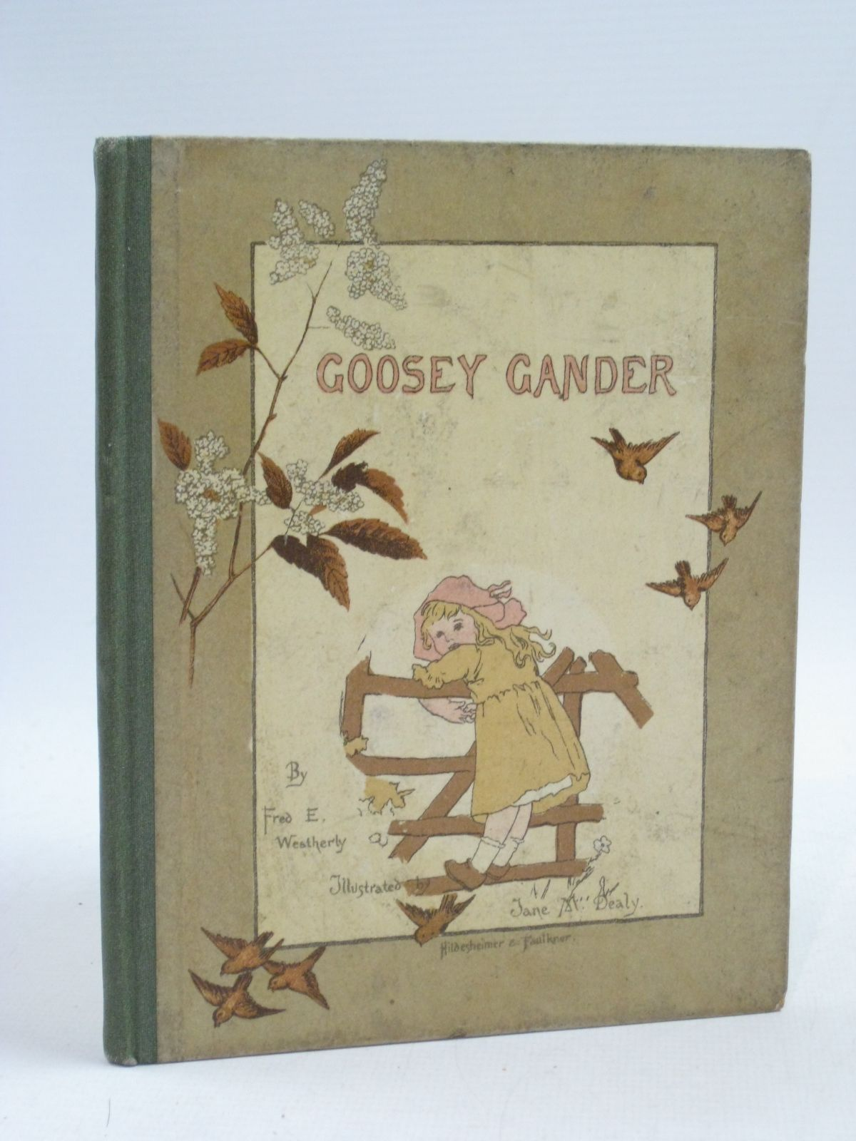 Photo of GOOSEY GANDER written by Weatherly, F.E. illustrated by Dealy, Jane M. published by Hildesheimer & Faulkner (STOCK CODE: 1505168)  for sale by Stella & Rose's Books