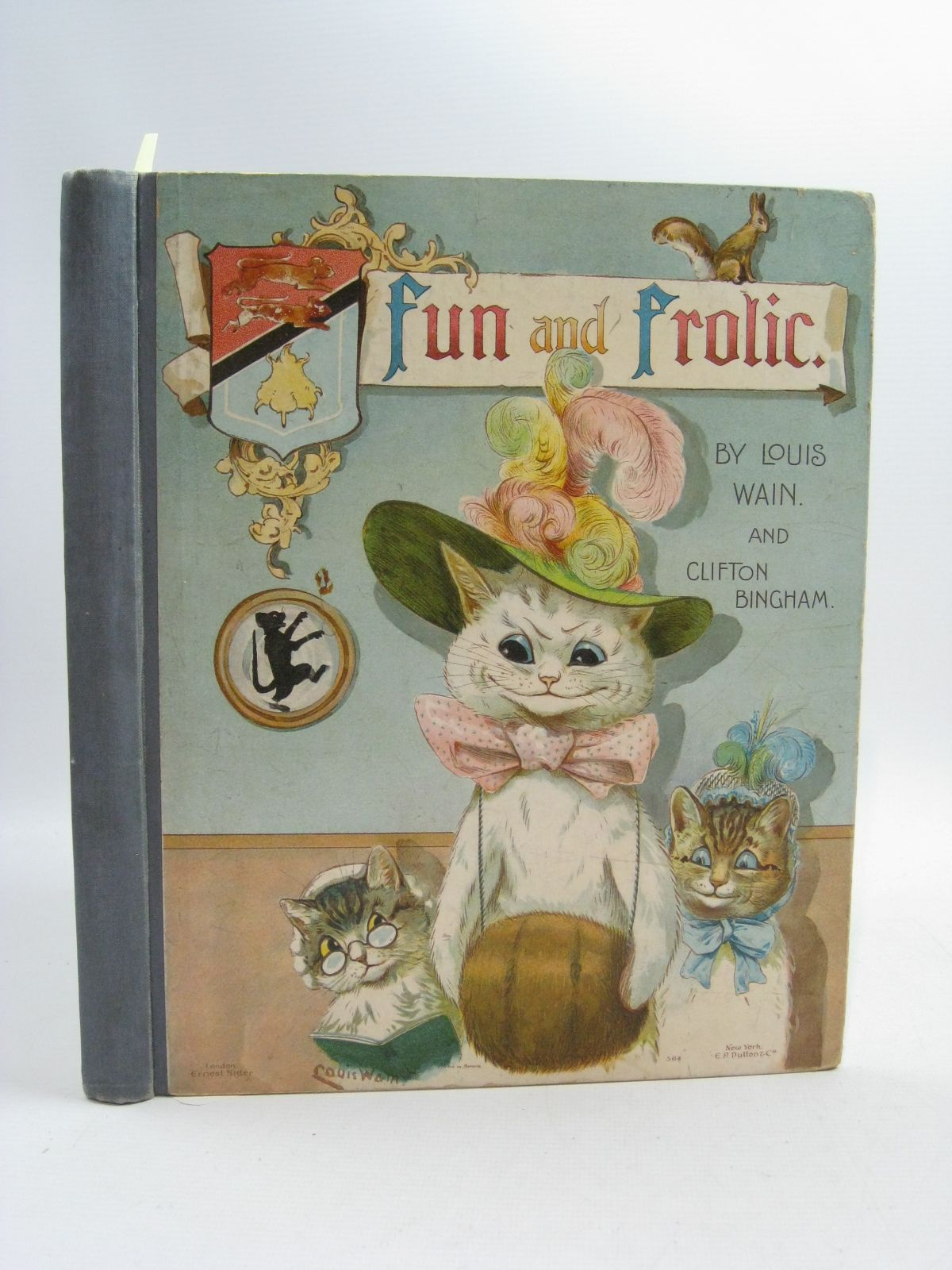 Photo of FUN AND FROLIC written by Bingham, Clifton illustrated by Wain, Louis published by Ernest Nister (STOCK CODE: 1505190)  for sale by Stella & Rose's Books