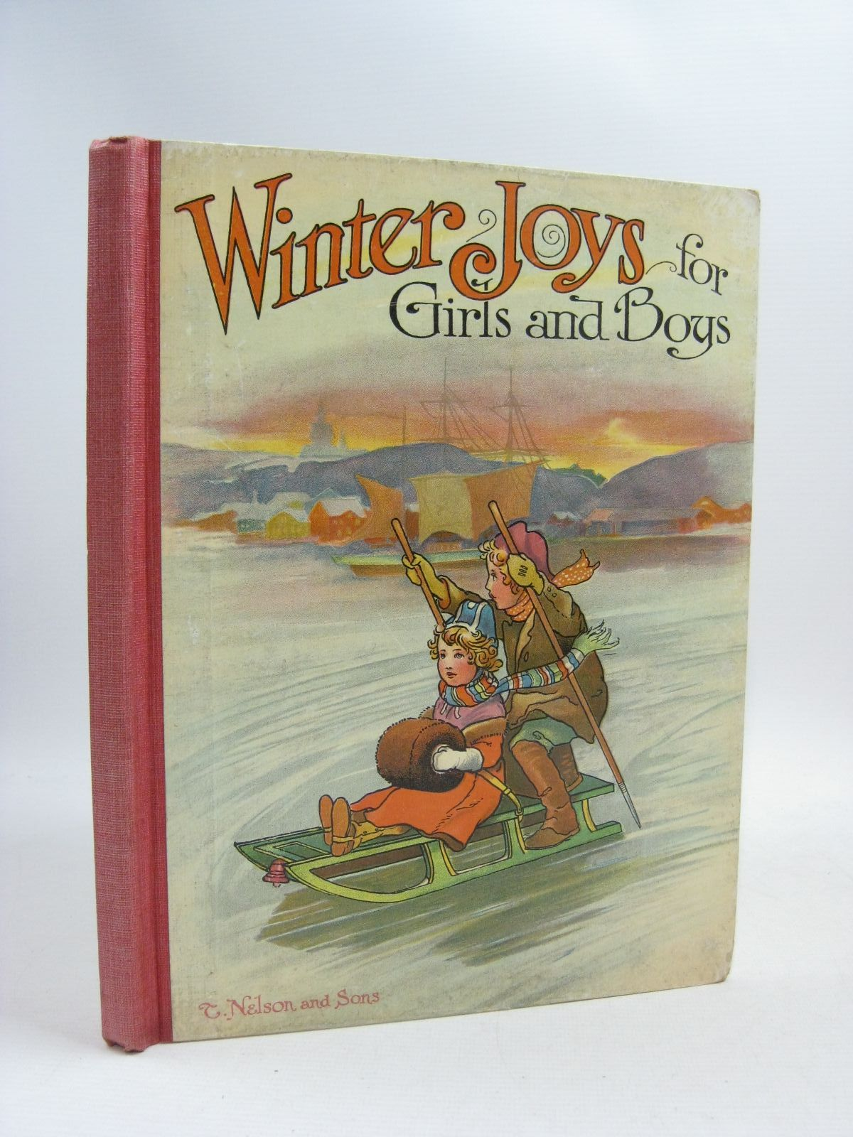 Photo of WINTER JOYS FOR GIRLS AND BOYS illustrated by Hassall, John<br />Lance, E.<br />et al., published by Thomas Nelson & Sons (STOCK CODE: 1505336)  for sale by Stella & Rose's Books