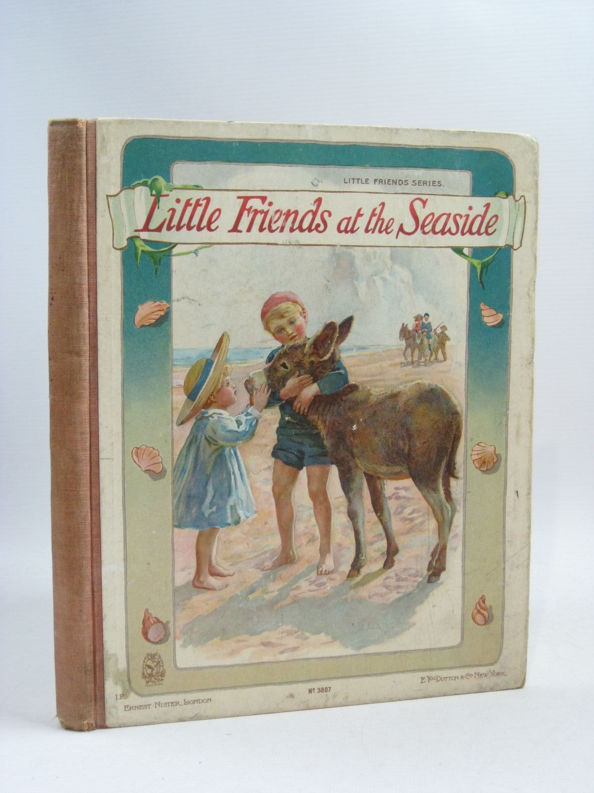 Photo of LITTLE FRIENDS AT THE SEASIDE published by Ernest Nister, E.P. Dutton & Co. (STOCK CODE: 1505344)  for sale by Stella & Rose's Books