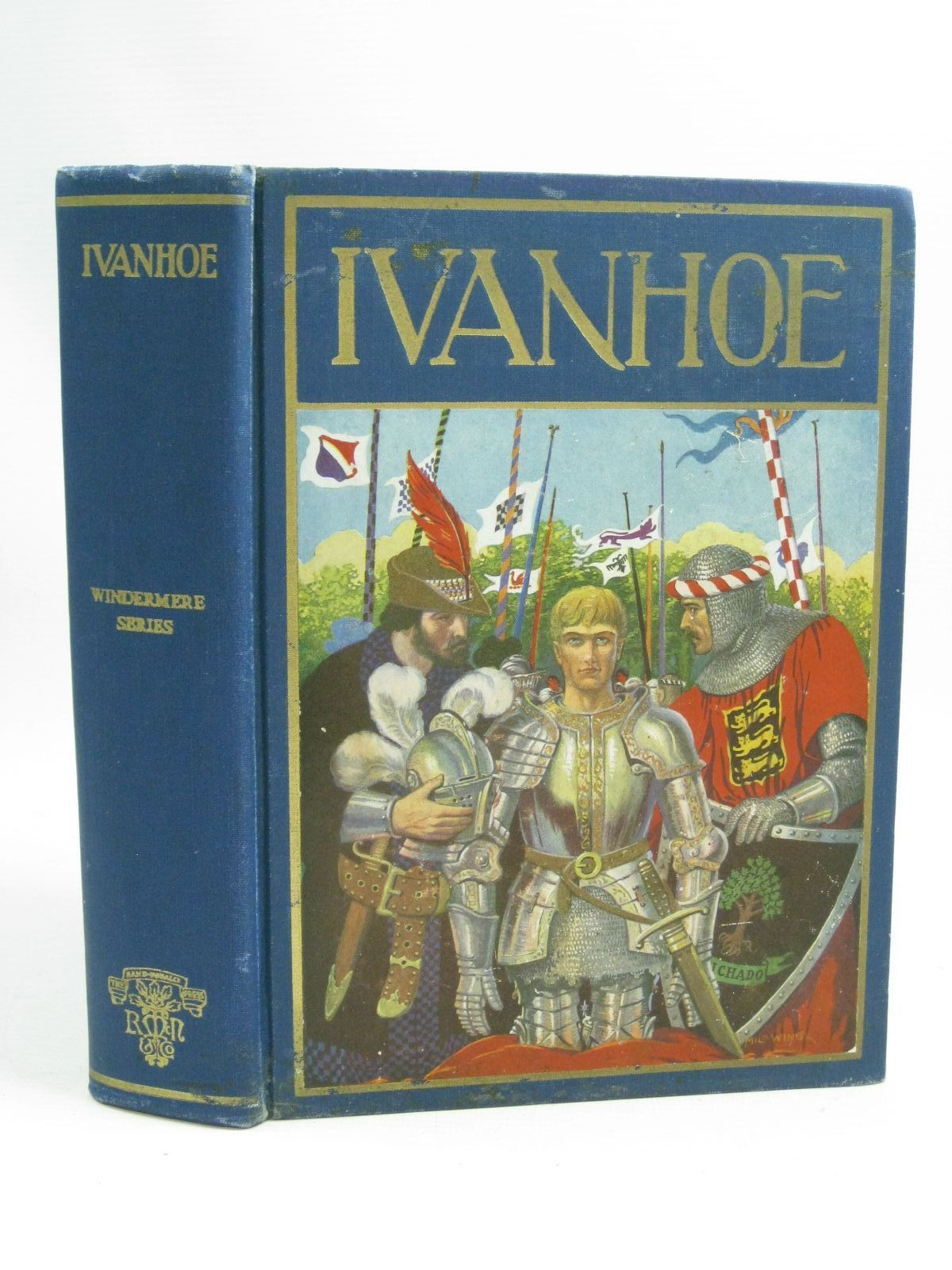 Photo of IVANHOE written by Scott, Sir Walter illustrated by Winter, Milo published by Rand McNally & Co, NY. (STOCK CODE: 1505371)  for sale by Stella & Rose's Books