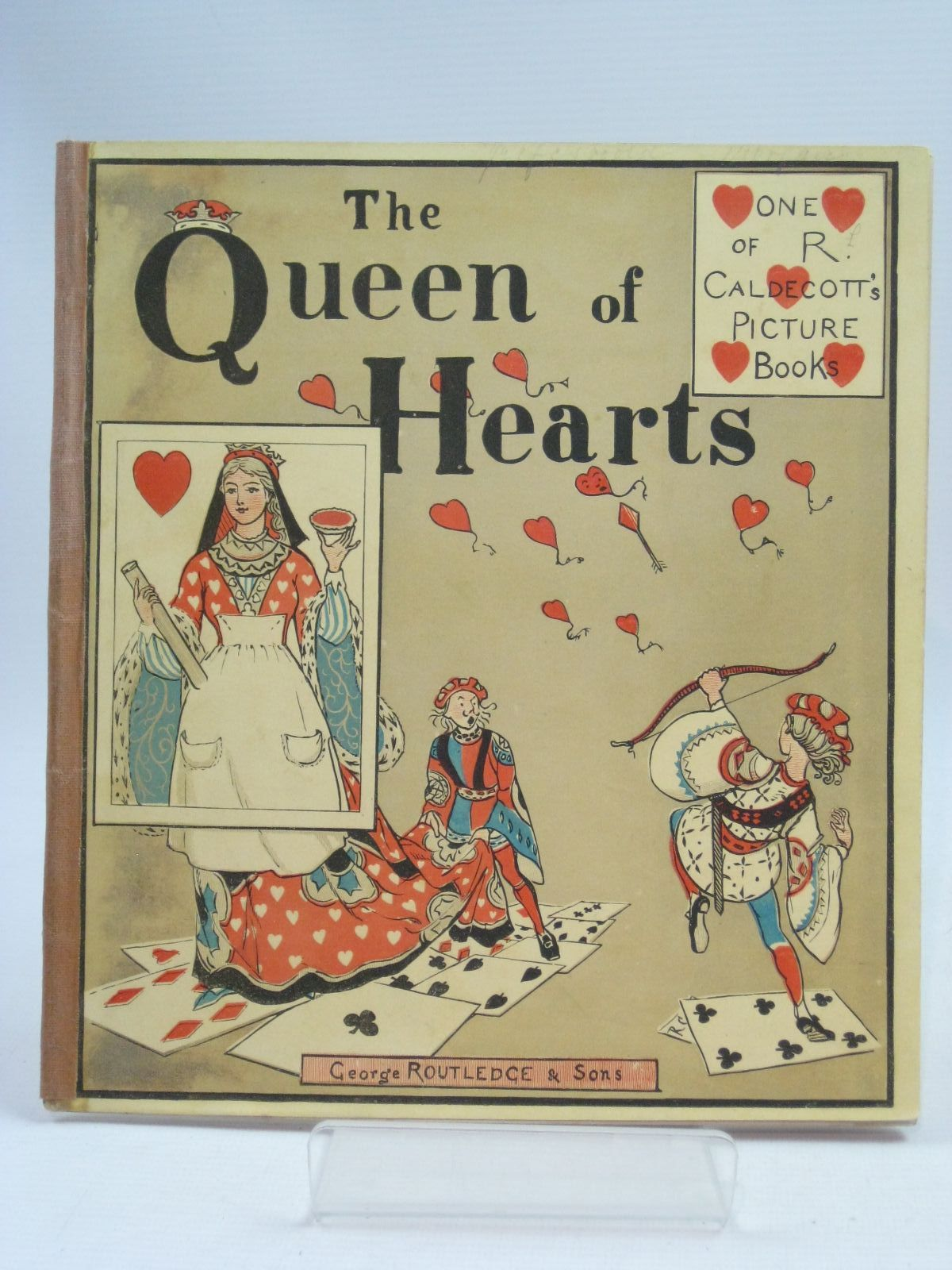 Photo of THE QUEEN OF HEARTS illustrated by Caldecott, Randolph published by George Routledge & Sons (STOCK CODE: 1505390)  for sale by Stella & Rose's Books