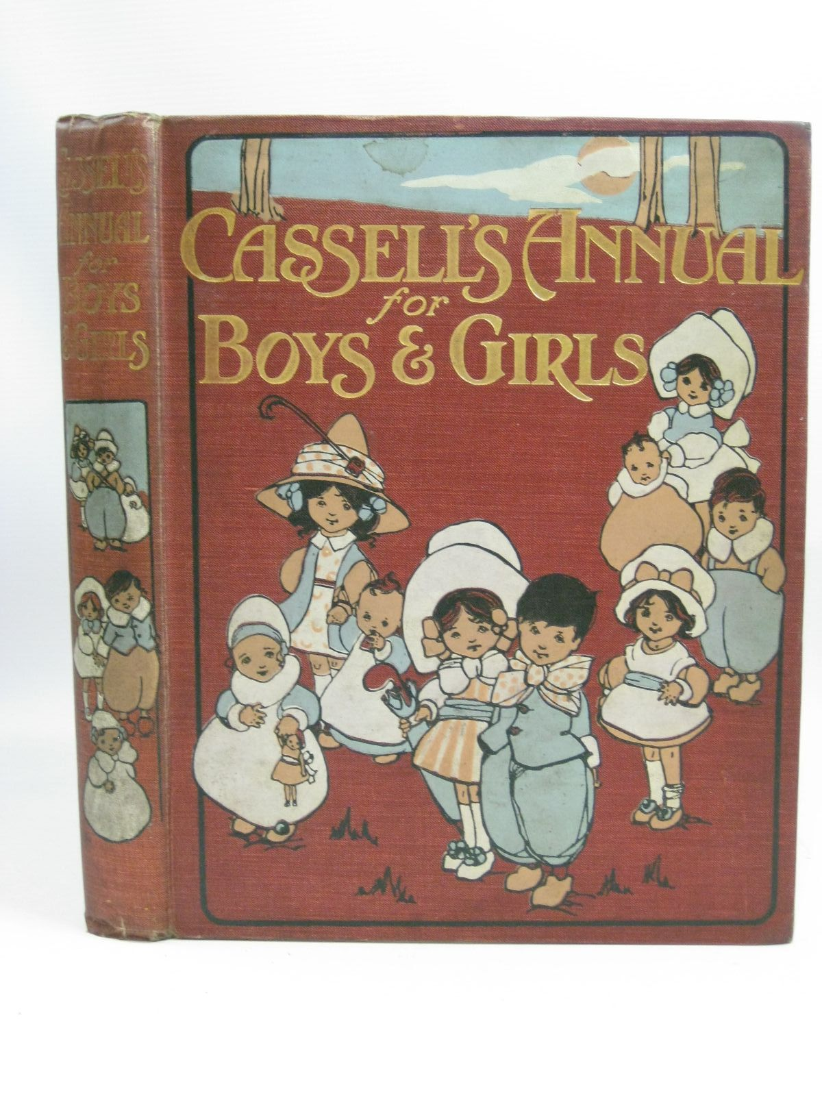 Photo of CASSELL'S ANNUAL FOR BOYS AND GIRLS written by Comfort, John<br />Stuart, C.B.<br />Herbertson, Agnes Grozier<br />et al, illustrated by Petherick, Rosa C.<br />Macgregor, Angusine<br />Hart, Frank<br />et al., published by Cassell & Company Ltd (STOCK CODE: 1505413)  for sale by Stella & Rose's Books