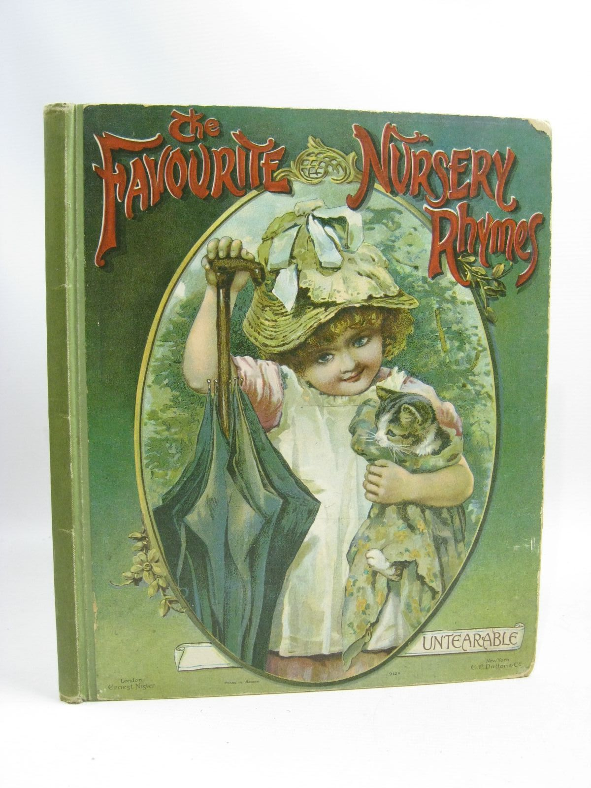 Photo of THE FAVOURITE NURSERY RHYMES published by Ernest Nister (STOCK CODE: 1505414)  for sale by Stella & Rose's Books