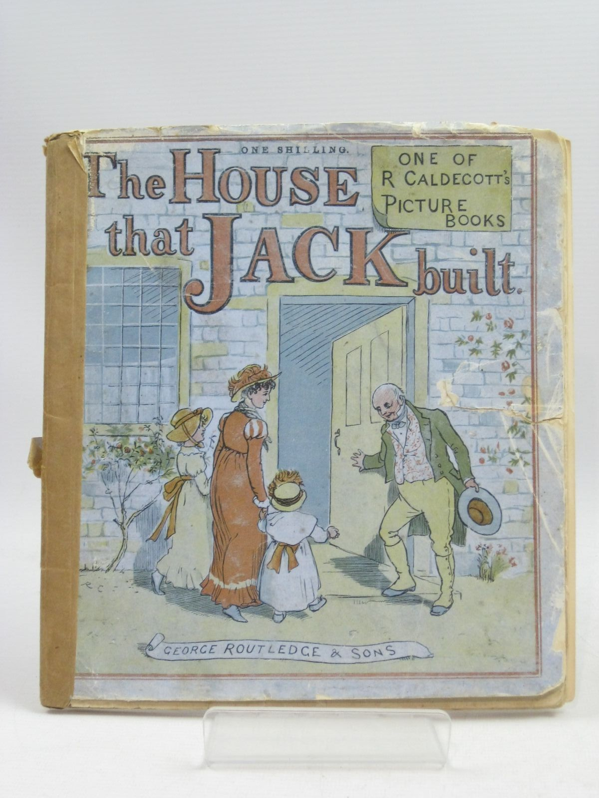 Photo of THE HOUSE THAT JACK BUILT illustrated by Caldecott, Randolph published by George Routledge & Sons (STOCK CODE: 1505433)  for sale by Stella & Rose's Books
