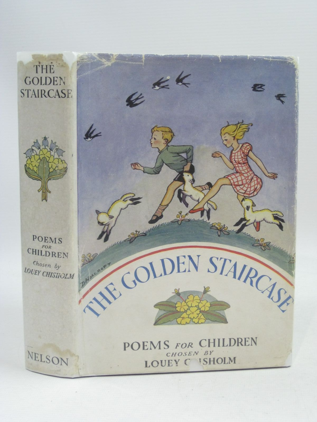 Photo of THE GOLDEN STAIRCASE written by Chisholm, Louey illustrated by Brock, H.M.<br />Brock, C.E. published by Thomas Nelson and Sons Ltd. (STOCK CODE: 1505435)  for sale by Stella & Rose's Books