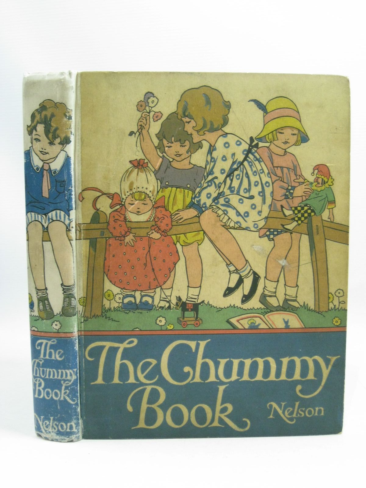Photo of THE CHUMMY BOOK - TWELFTH YEAR written by Chisholm, Edwin<br />Herbertson, Agnes Grozier<br />Russell, Dorothy<br />Talbot, Ethel<br />Steedman, Amy<br />et al, illustrated by Attwell, Mabel Lucie<br />Rountree, Harry<br />Johnston, M.D.<br />Earnshaw, Harold<br />Hart, Frank<br />et al., published by Thomas Nelson and Sons Ltd. (STOCK CODE: 1505443)  for sale by Stella & Rose's Books