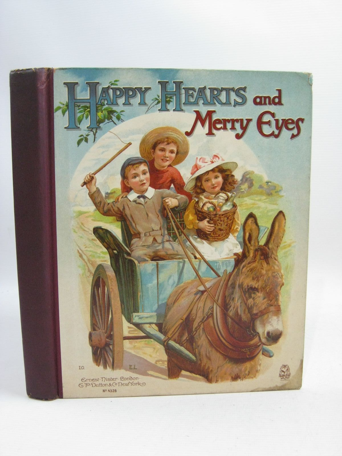Photo of HAPPY HEARTS AND MERRY EYES written by Meade, L.T.<br />Everett-Green, Evelyn<br />Weedon, L.L.<br />et al, illustrated by Wain, Louis<br />Foster, W.<br />Robinson, Gordon<br />et al., published by Ernest Nister, E.P. Dutton & Co. (STOCK CODE: 1505464)  for sale by Stella & Rose's Books