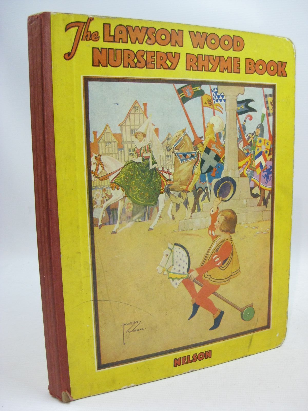 Photo of THE LAWSON WOOD NURSERY RHYME BOOK illustrated by Wood, Lawson published by Thomas Nelson and Sons Ltd. (STOCK CODE: 1505504)  for sale by Stella & Rose's Books