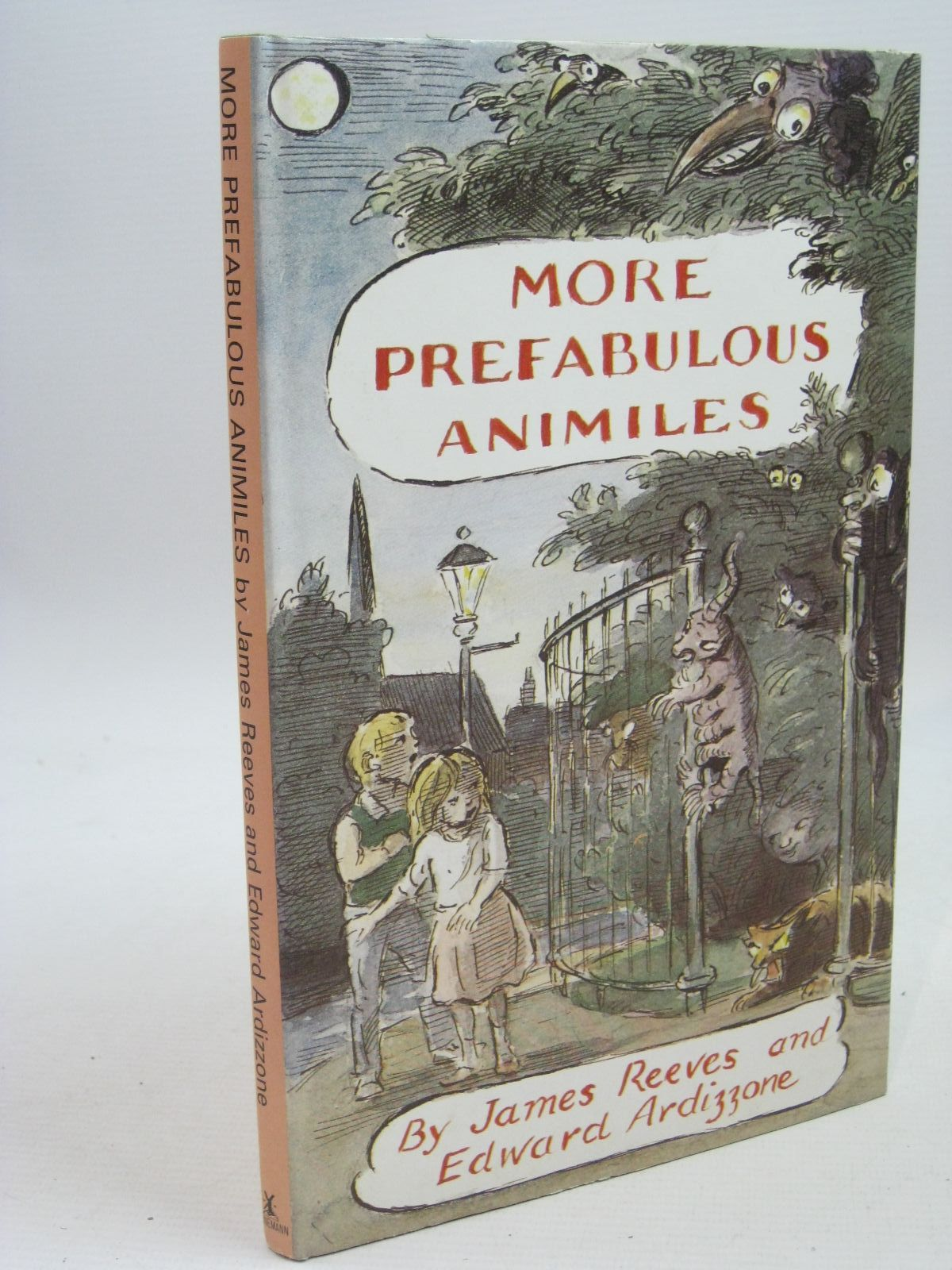 Photo of MORE PREFABULOUS ANIMILES written by Reeves, James illustrated by Ardizzone, Edward published by Heinemann (STOCK CODE: 1505516)  for sale by Stella & Rose's Books