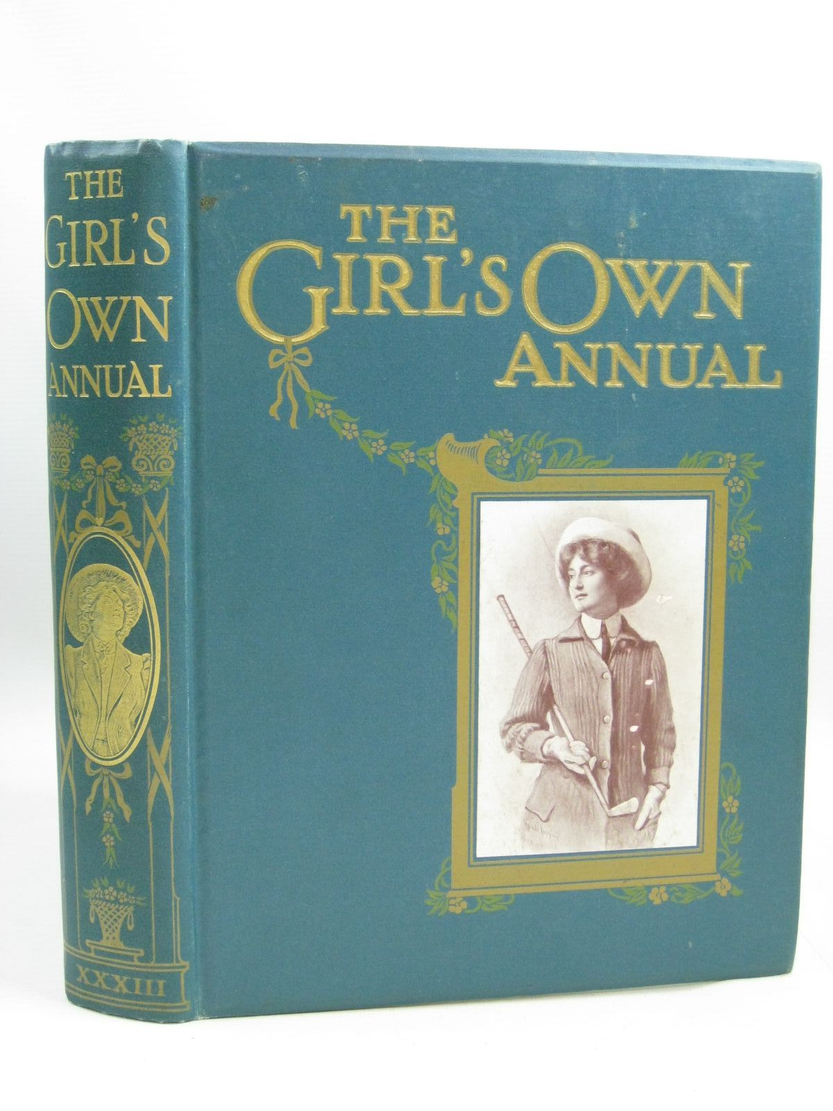 Photo of THE GIRL'S OWN ANNUAL VOL XXXIII written by Klickmann, Flora published by Girl's Own Paper (STOCK CODE: 1505555)  for sale by Stella & Rose's Books