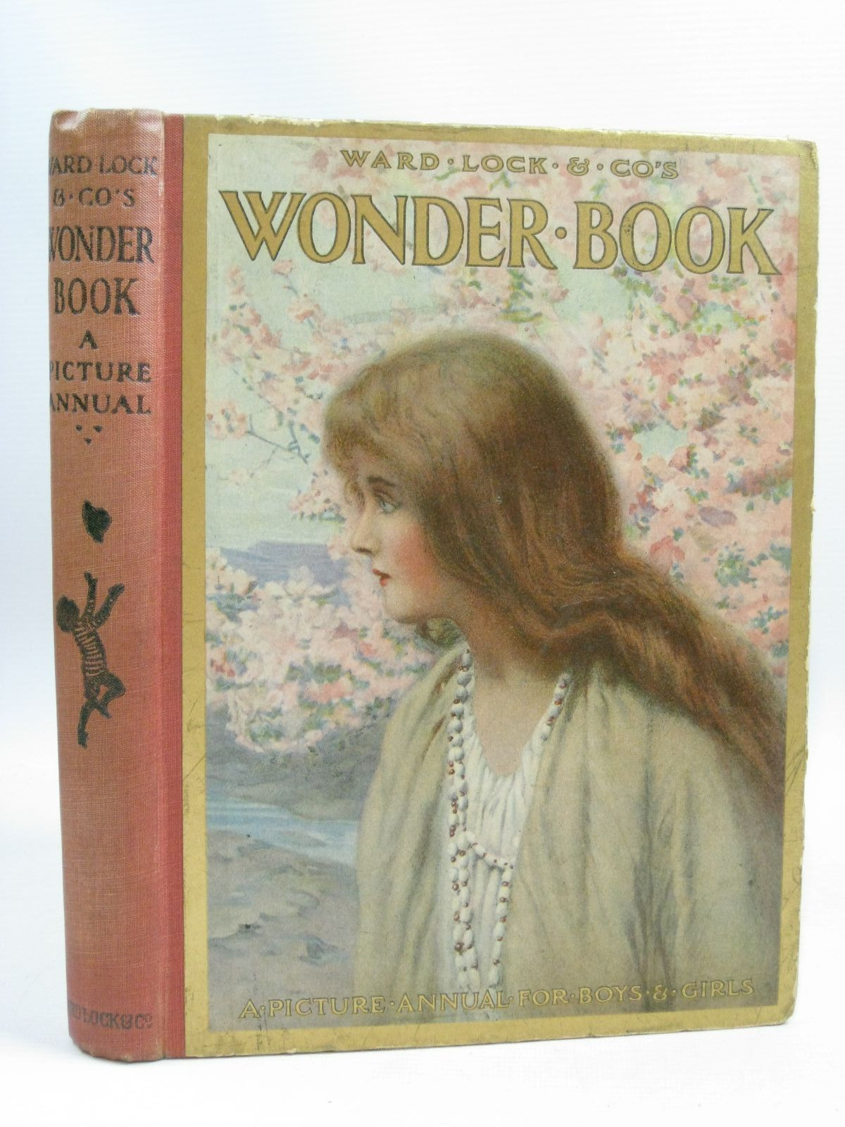 Photo of WARD LOCK &AMP; CO'S WONDER BOOK 1921 written by Golding, Harry<br />Chaundler, Christine<br />Pope, Jessie<br />Inchfawn, Fay<br />et al, illustrated by Wain, Louis<br />Aris, Ernest A.<br />Tarrant, Margaret<br />Brisley, Nina K.<br />et al., published by Ward, Lock & Co. Limited (STOCK CODE: 1505558)  for sale by Stella & Rose's Books