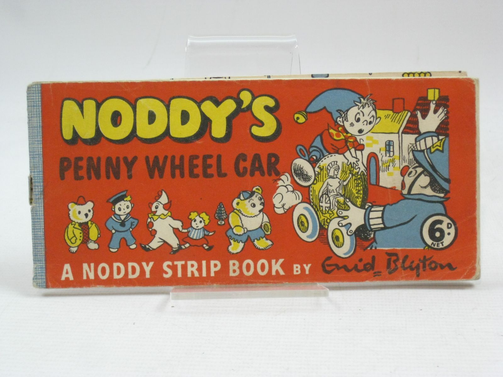 Photo of NODDY'S PENNY WHEEL CAR written by Blyton, Enid published by Sampson Low (STOCK CODE: 1505649)  for sale by Stella & Rose's Books