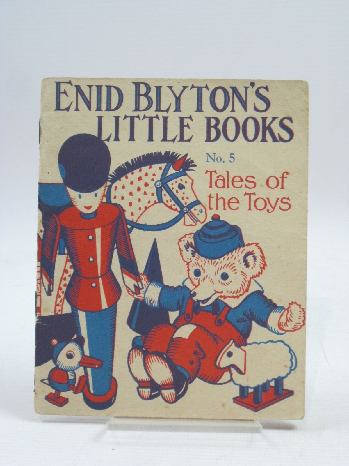 Photo of ENID BLYTON'S LITTLE BOOKS NO. 5 - TALES OF THE TOYS written by Blyton, Enid illustrated by Kerr, Alfred E. published by Evans Brothers Limited (STOCK CODE: 1505653)  for sale by Stella & Rose's Books