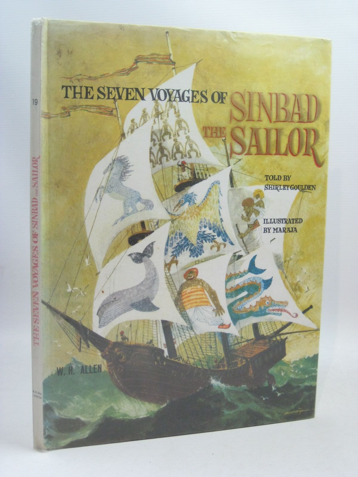 Photo of THE SEVEN VOYAGES OF SINBAD THE SAILOR written by Goulden, Shirley illustrated by Maraja,  published by W.H. Allen (STOCK CODE: 1505682)  for sale by Stella & Rose's Books