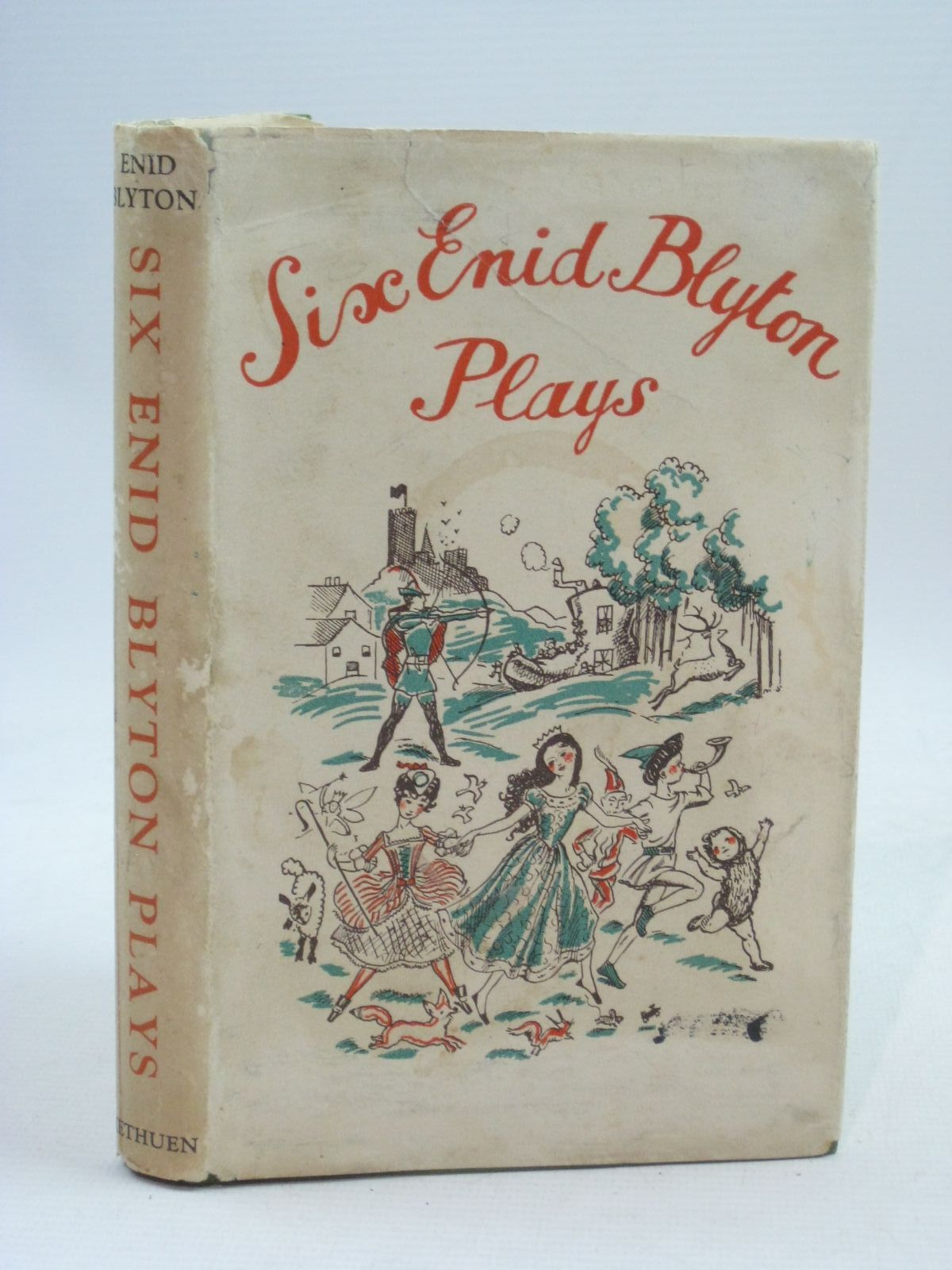 Photo of SIX ENID BLYTON PLAYS written by Blyton, Enid published by Methuen & Co. Ltd. (STOCK CODE: 1505687)  for sale by Stella & Rose's Books