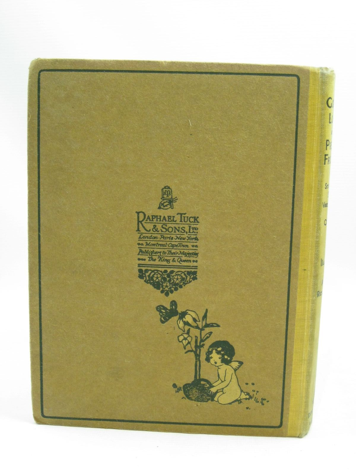 Photo of GOLDEN LOCKS AND PRETTY FROCKS written by Vredenburg, Edric<br />Hart, Hilda<br />Floyd, Grace C.<br />Belgrave, M. Dorothy illustrated by Richardson, Agnes published by Raphael Tuck & Sons Ltd. (STOCK CODE: 1505699)  for sale by Stella & Rose's Books