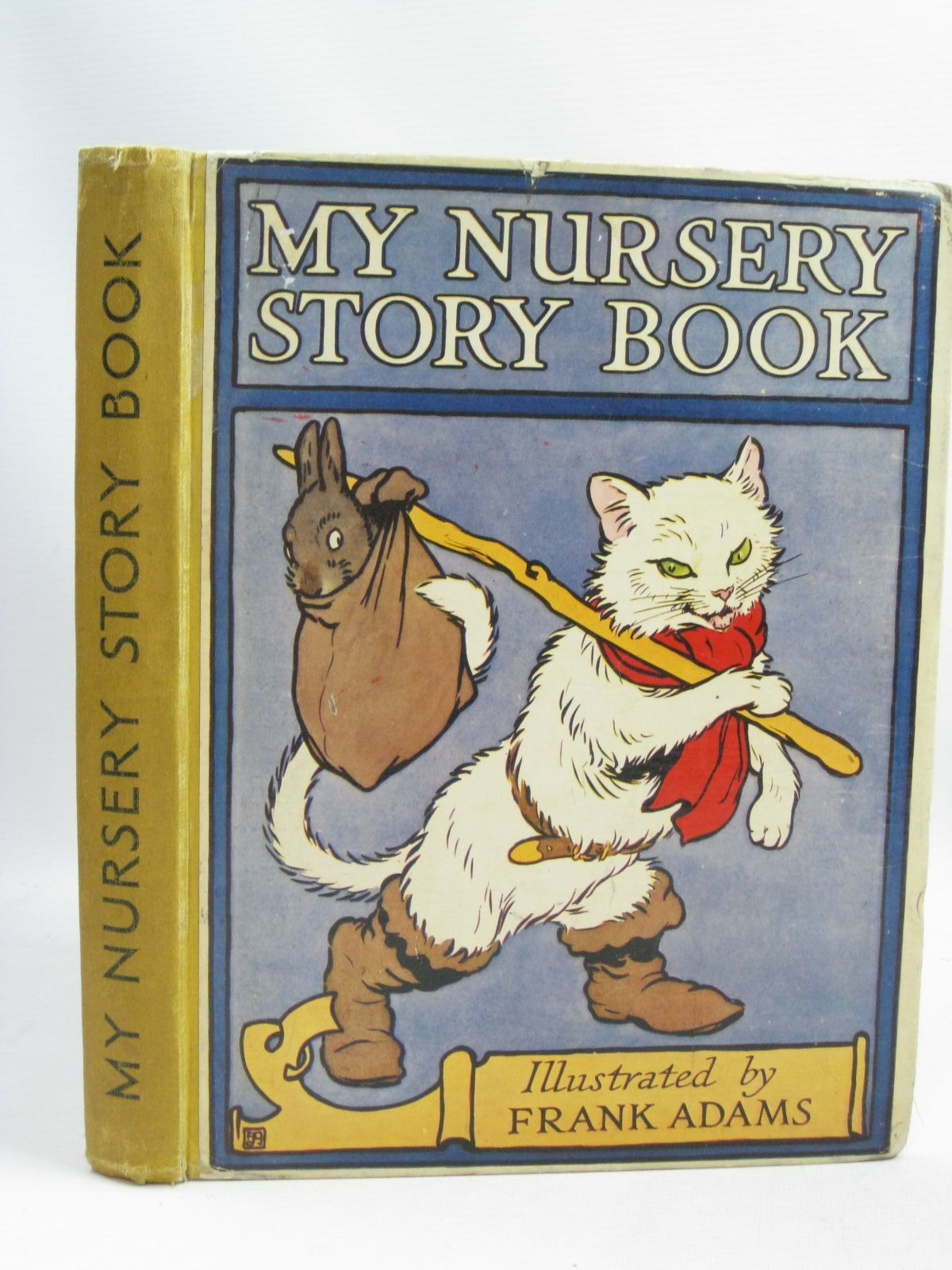 Photo of MY NURSERY STORY BOOK illustrated by Adams, Frank published by Blackie & Son Ltd. (STOCK CODE: 1505701)  for sale by Stella & Rose's Books