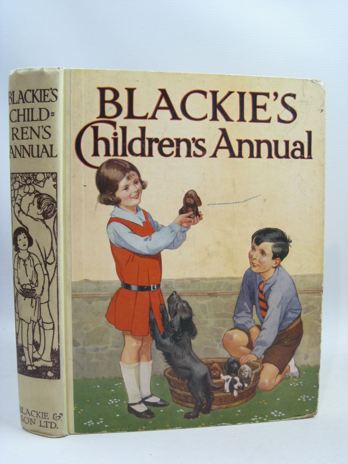 Photo of BLACKIE'S CHILDREN'S ANNUAL 28TH YEAR written by Hunter, Norman<br />Englefield, Cicely<br />Todd, Barbara Euphan<br />Barker, Cicely Mary<br />et al,  illustrated by Beaman, S.G. Hulme<br />Brock, H.M.<br />Rountree, Harry<br />Barker, Cicely Mary<br />Bull, Rene<br />et al.,  published by Blackie & Son Ltd. (STOCK CODE: 1505762)  for sale by Stella & Rose's Books