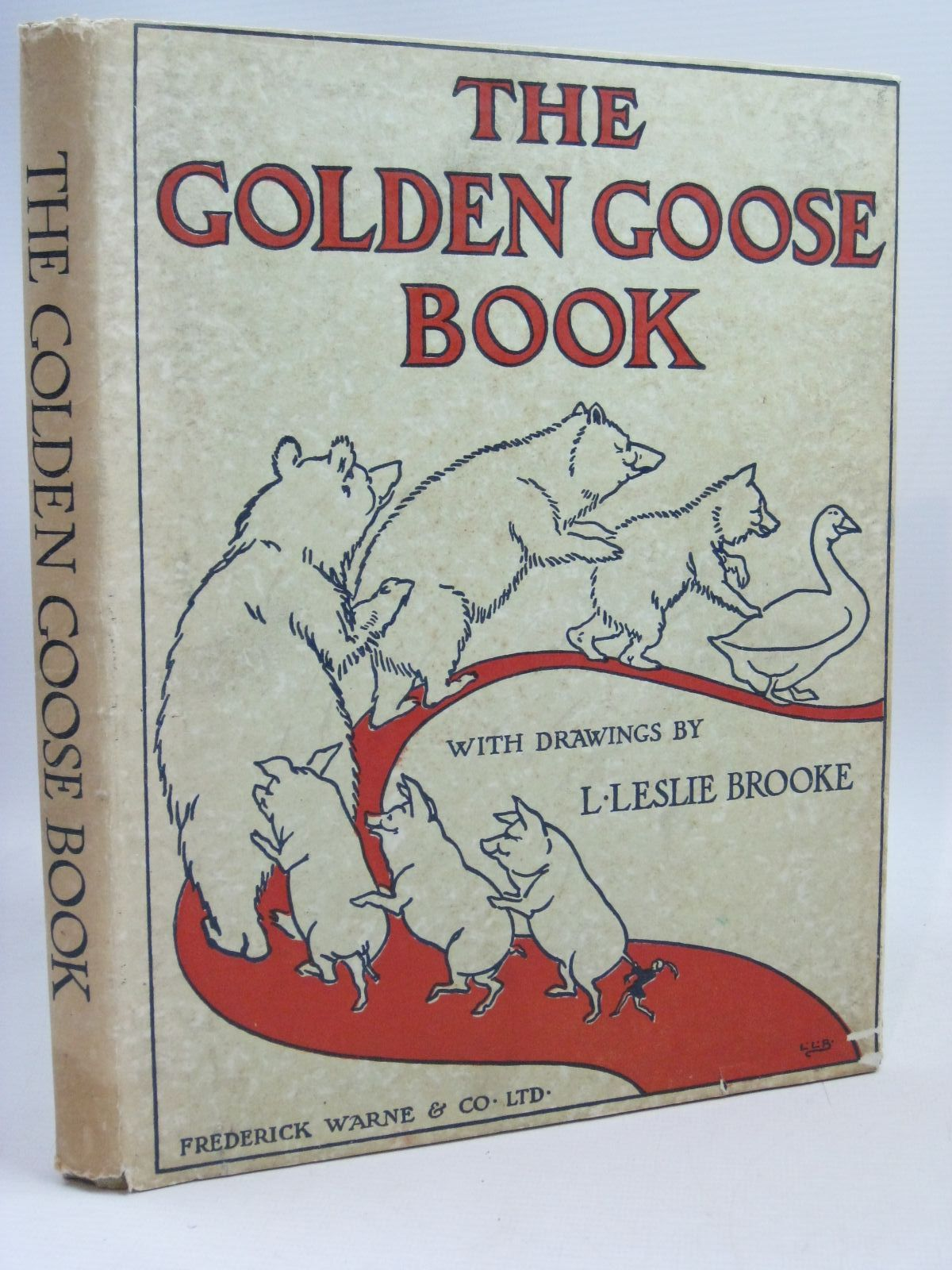 Photo of THE GOLDEN GOOSE BOOK illustrated by Brooke, L. Leslie published by Frederick Warne & Co Ltd. (STOCK CODE: 1505770)  for sale by Stella & Rose's Books