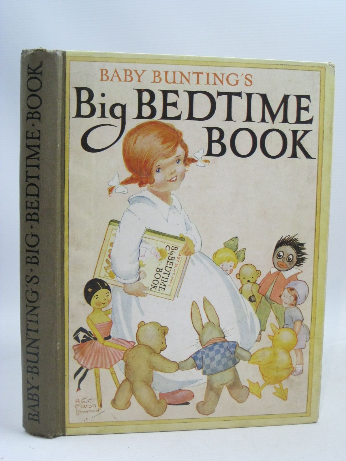 Photo of BABY BUNTING'S BIG BEDTIME BOOK written by Lambert, H.G.C. Marsh illustrated by Lambert, H.G.C. Marsh published by Ward, Lock & Co. Limited (STOCK CODE: 1505781)  for sale by Stella & Rose's Books