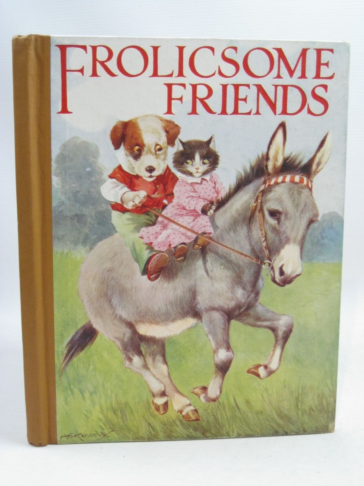 Photo of FROLICSOME FRIENDS written by Pope, Jessie illustrated by Kennedy, A.E. published by Blackie And Son Limited (STOCK CODE: 1505789)  for sale by Stella & Rose's Books