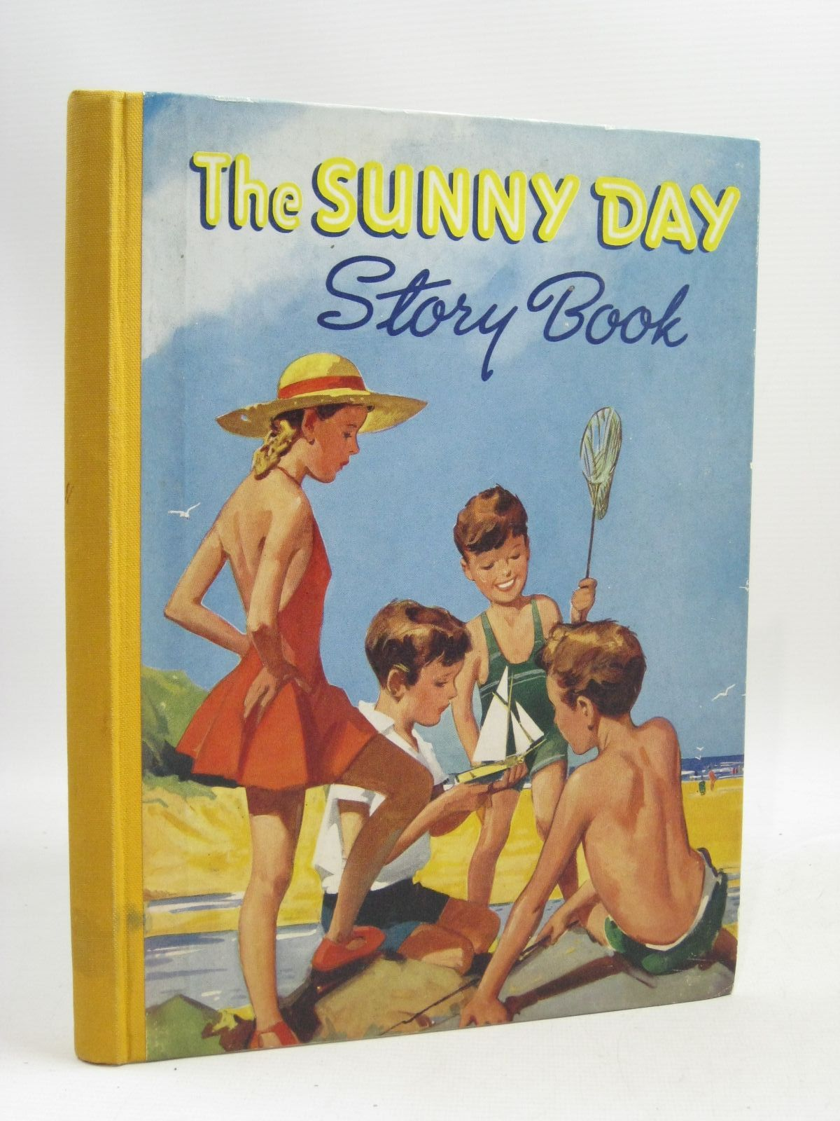 Photo of THE SUNNY DAY STORY BOOK written by Pope, Jessie<br />Rigby, Reginald<br />Herbertson, Agnes Grozier<br />Davidson, Gladys<br />et al, illustrated by Wain, Louis<br />Kidman, Leigh<br />et al., published by Ward Lock & Co Ltd. (STOCK CODE: 1505790)  for sale by Stella & Rose's Books